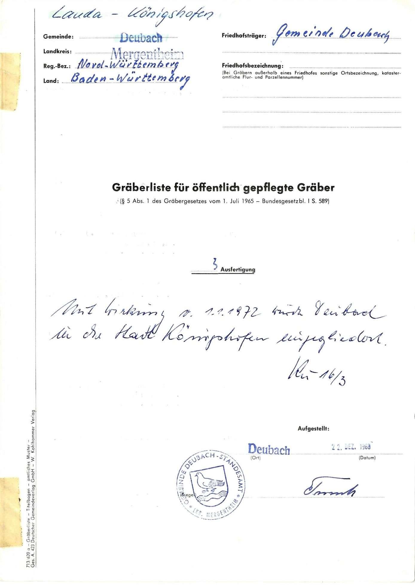 Deubach, Bild 1