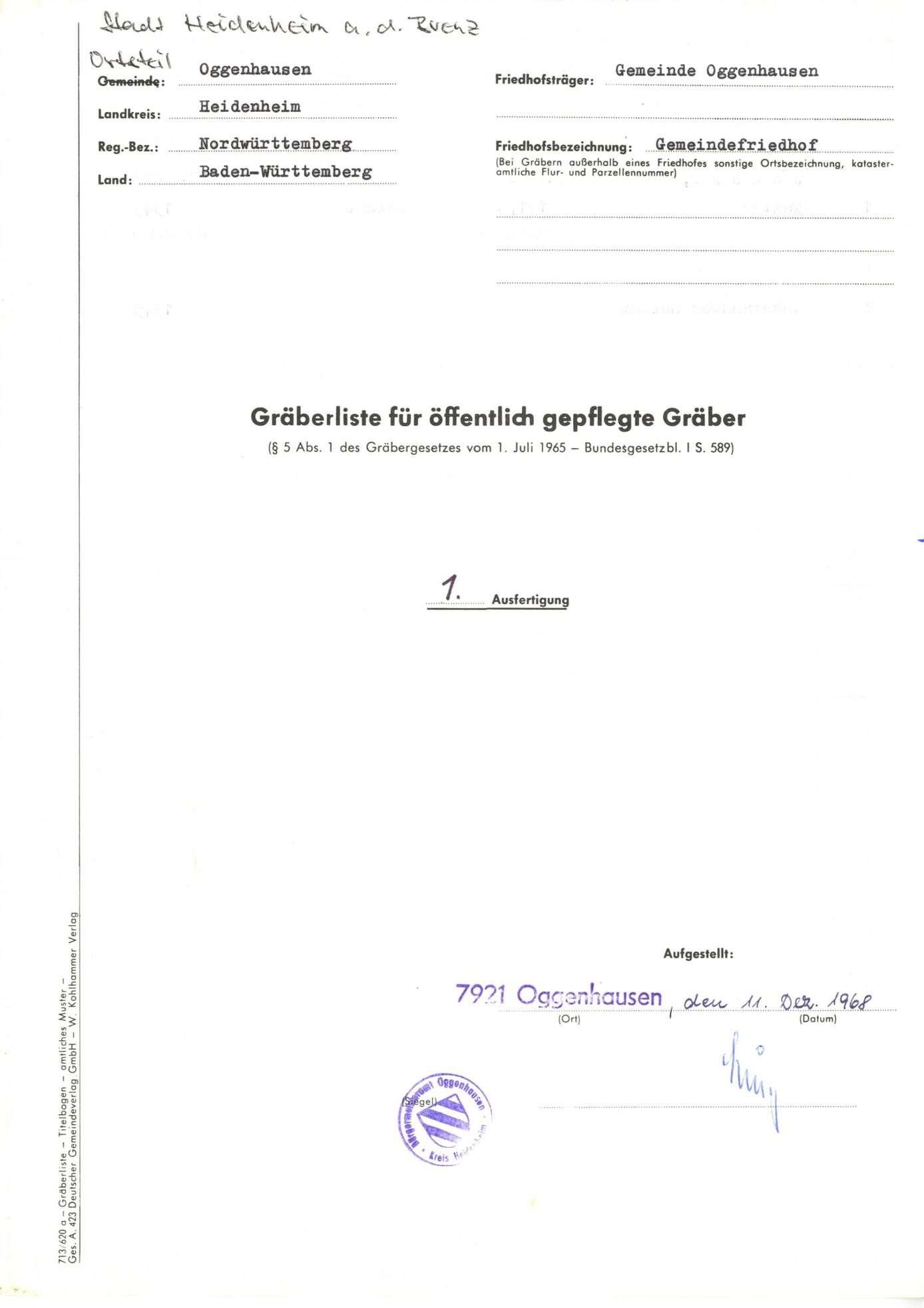 Oggenhausen, Bild 1