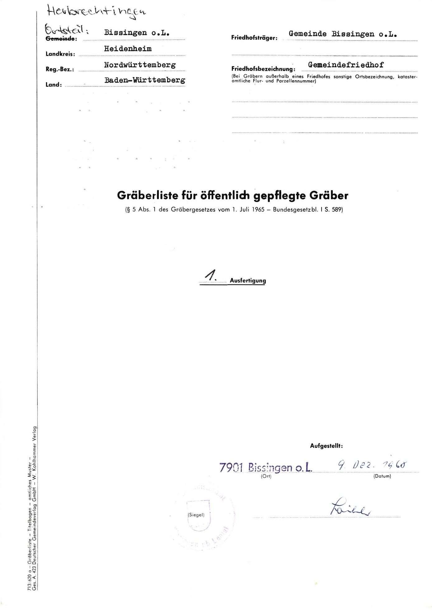 Bissingen o. L., Bild 1
