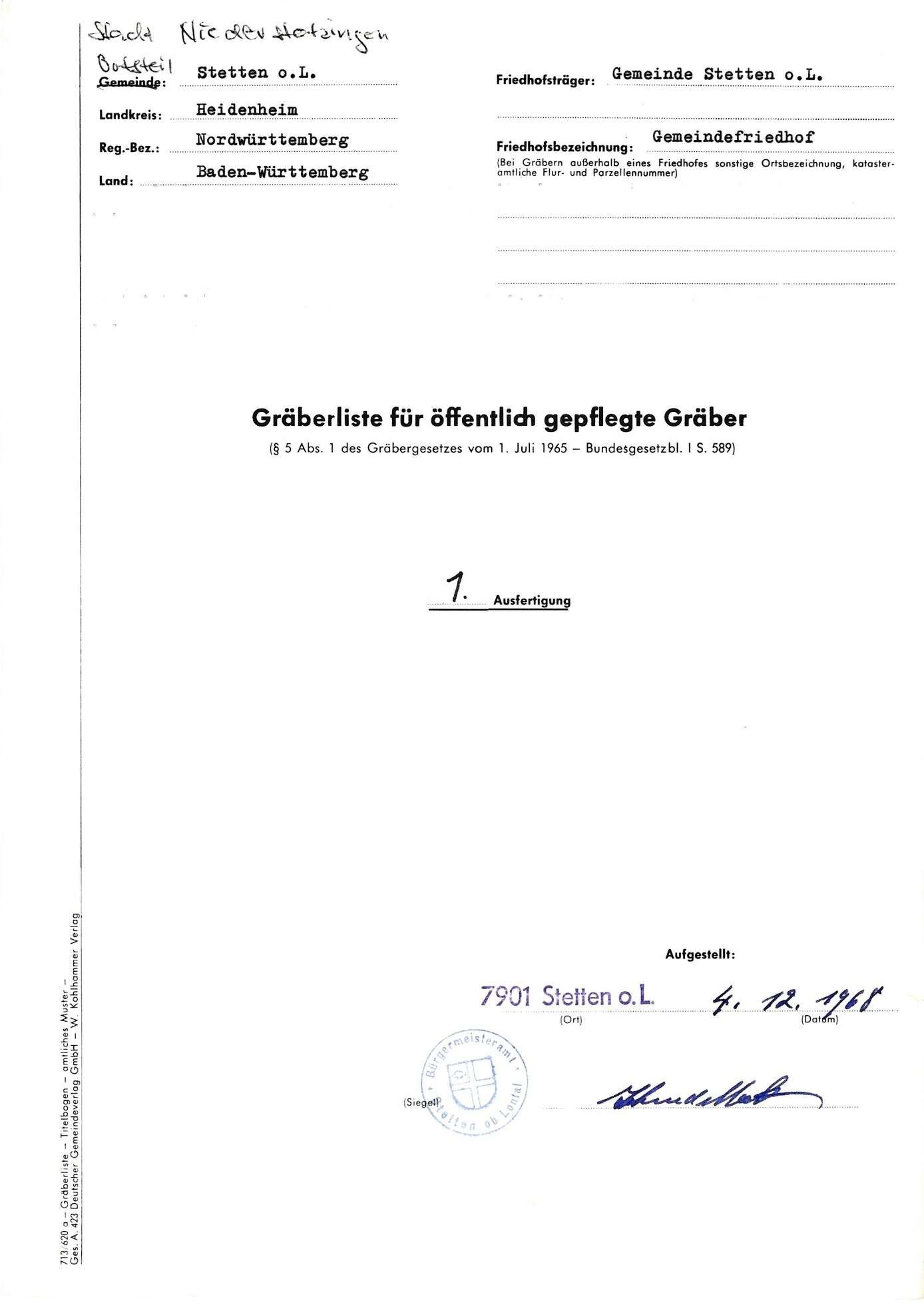 Stetten o. L., Bild 1