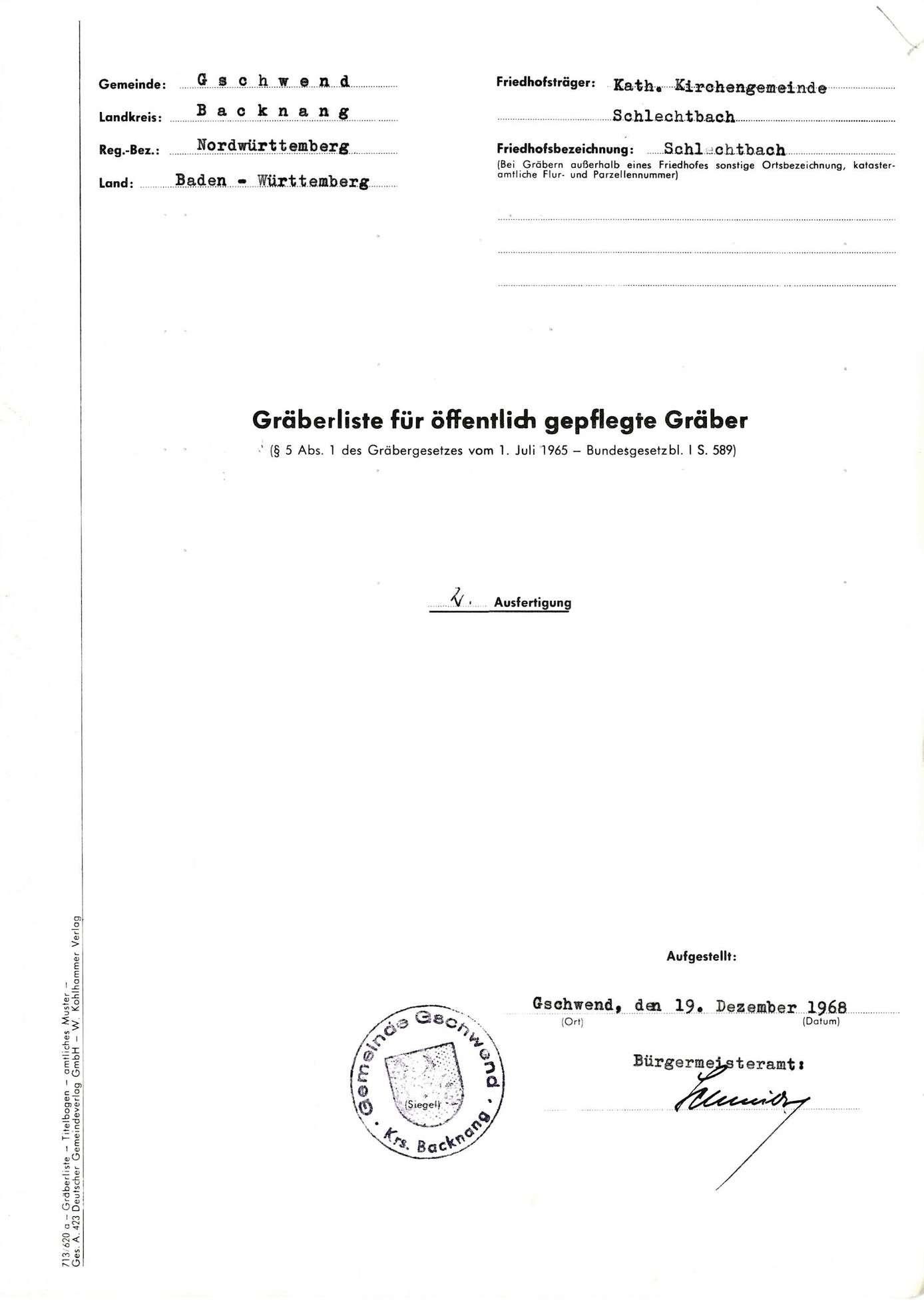 Schlechtbach, Bild 1