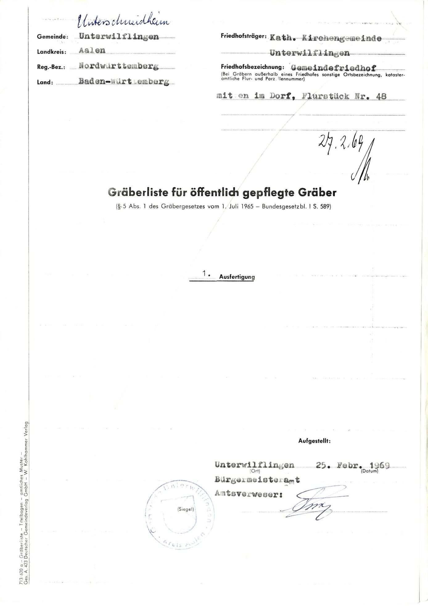 Unterwilflingen, Bild 1