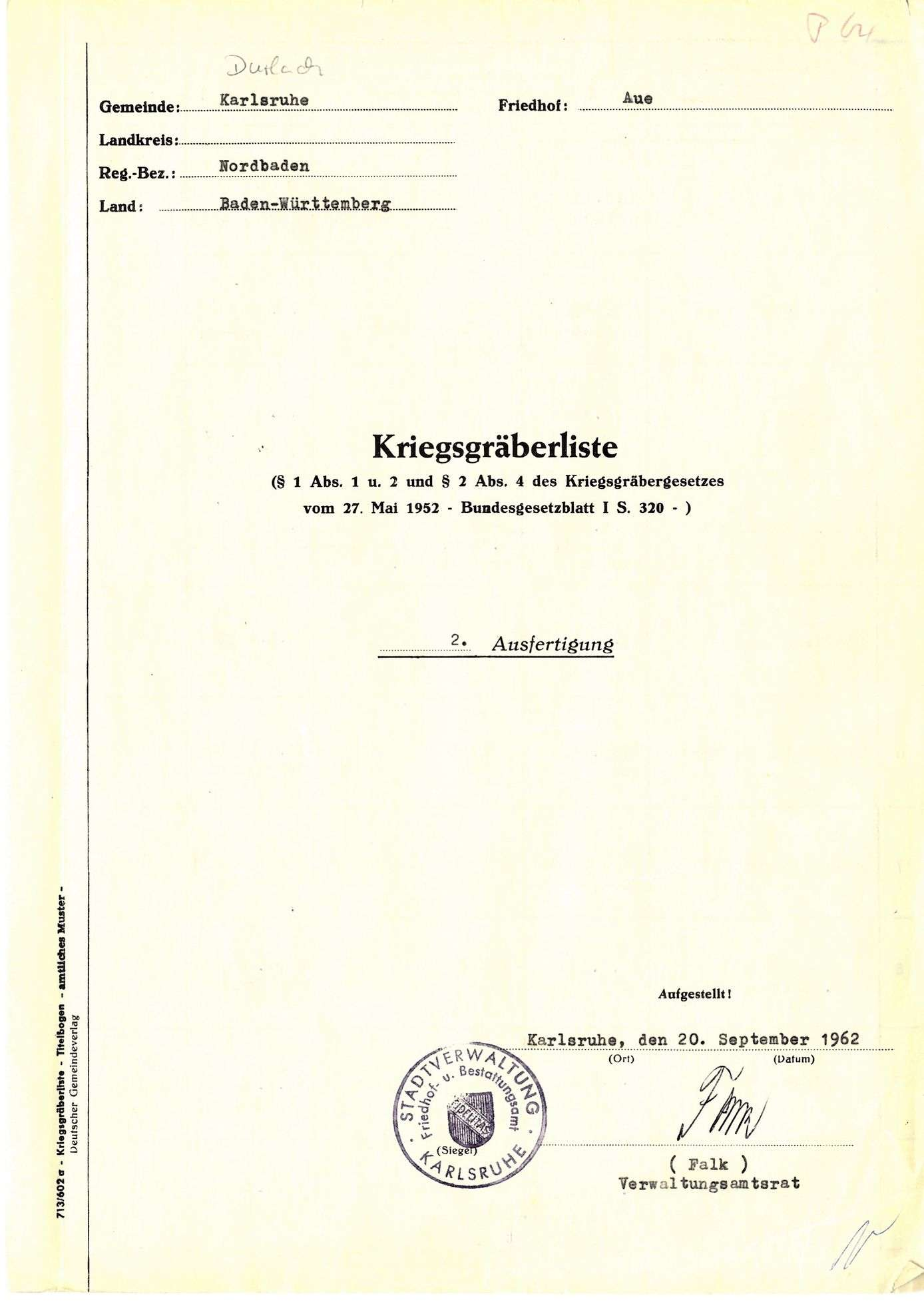 Durlach-Aue, Bild 1
