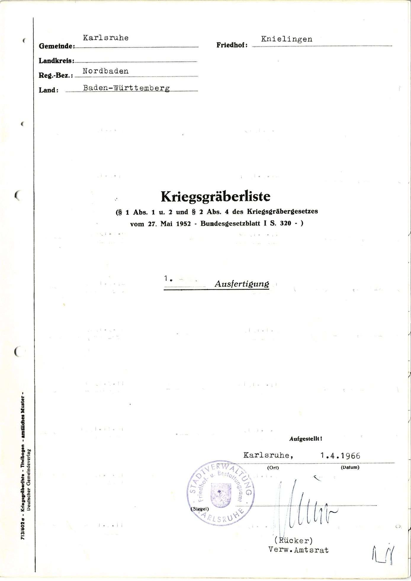 Knielingen, Bild 1