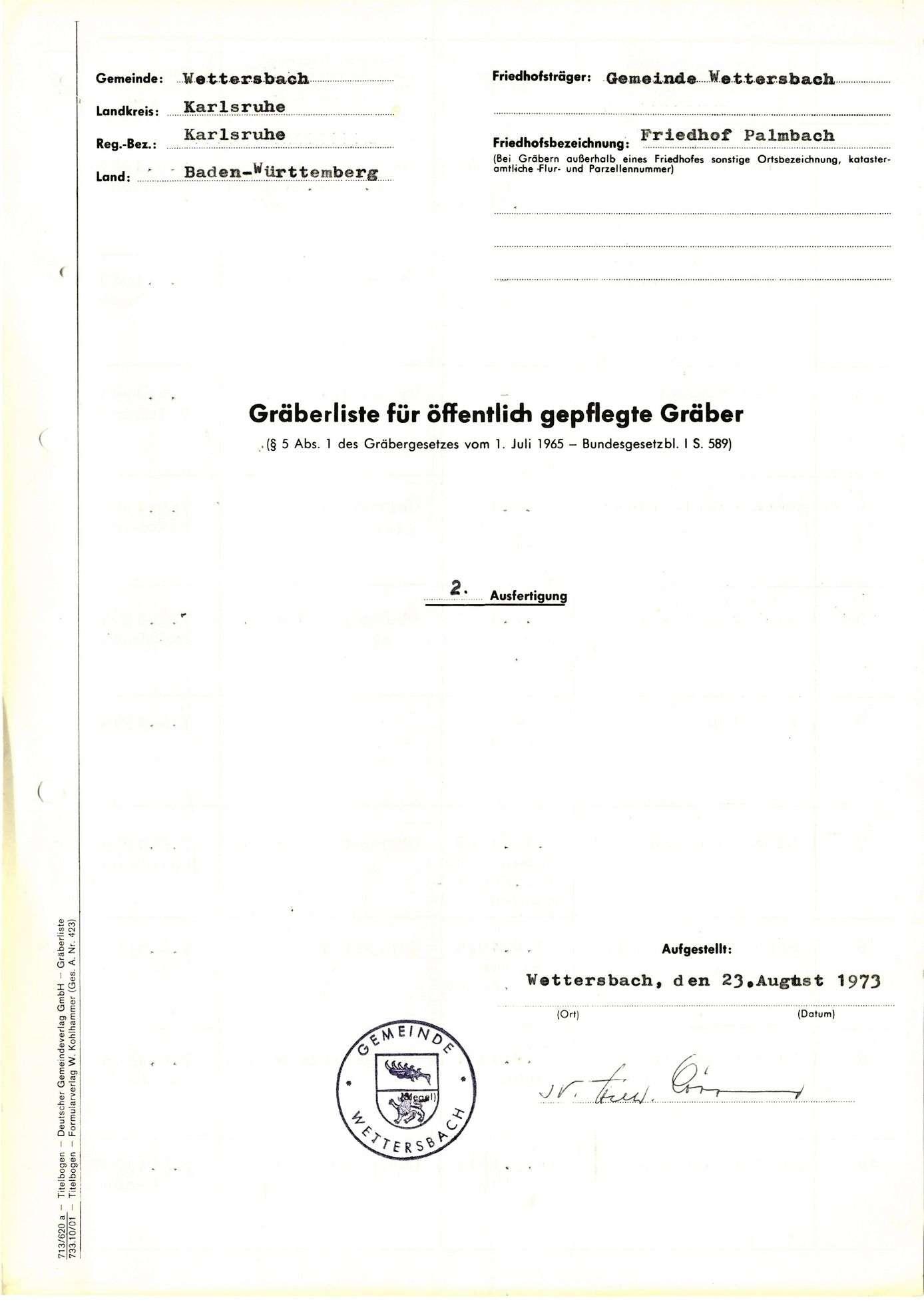 Palmbach, Bild 1