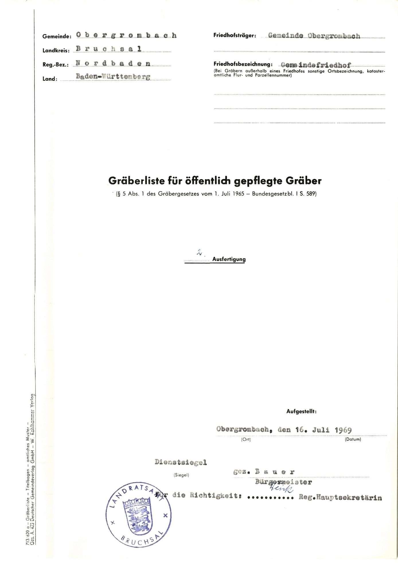Obergrombach, Bild 1