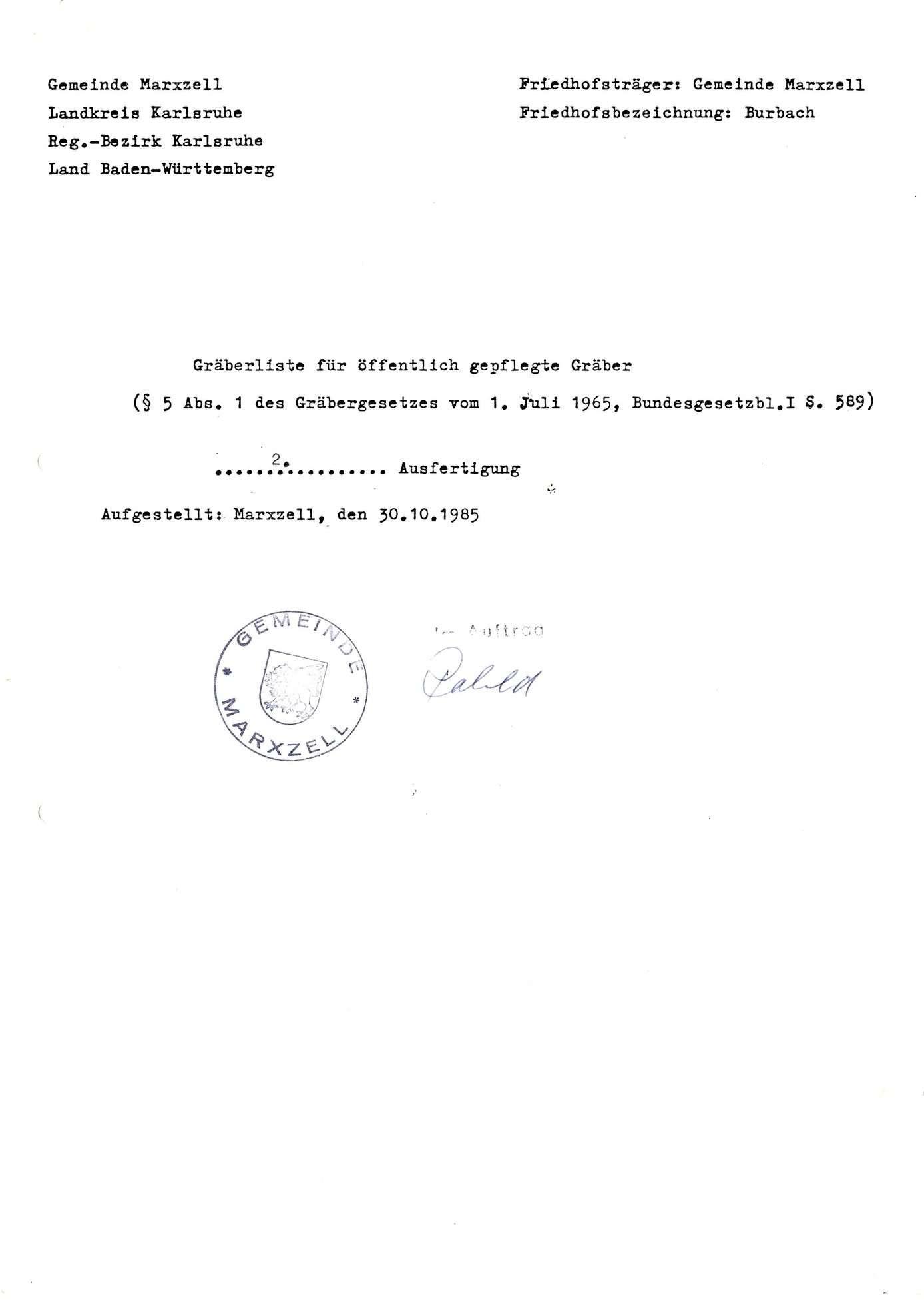 Burbach, Bild 1