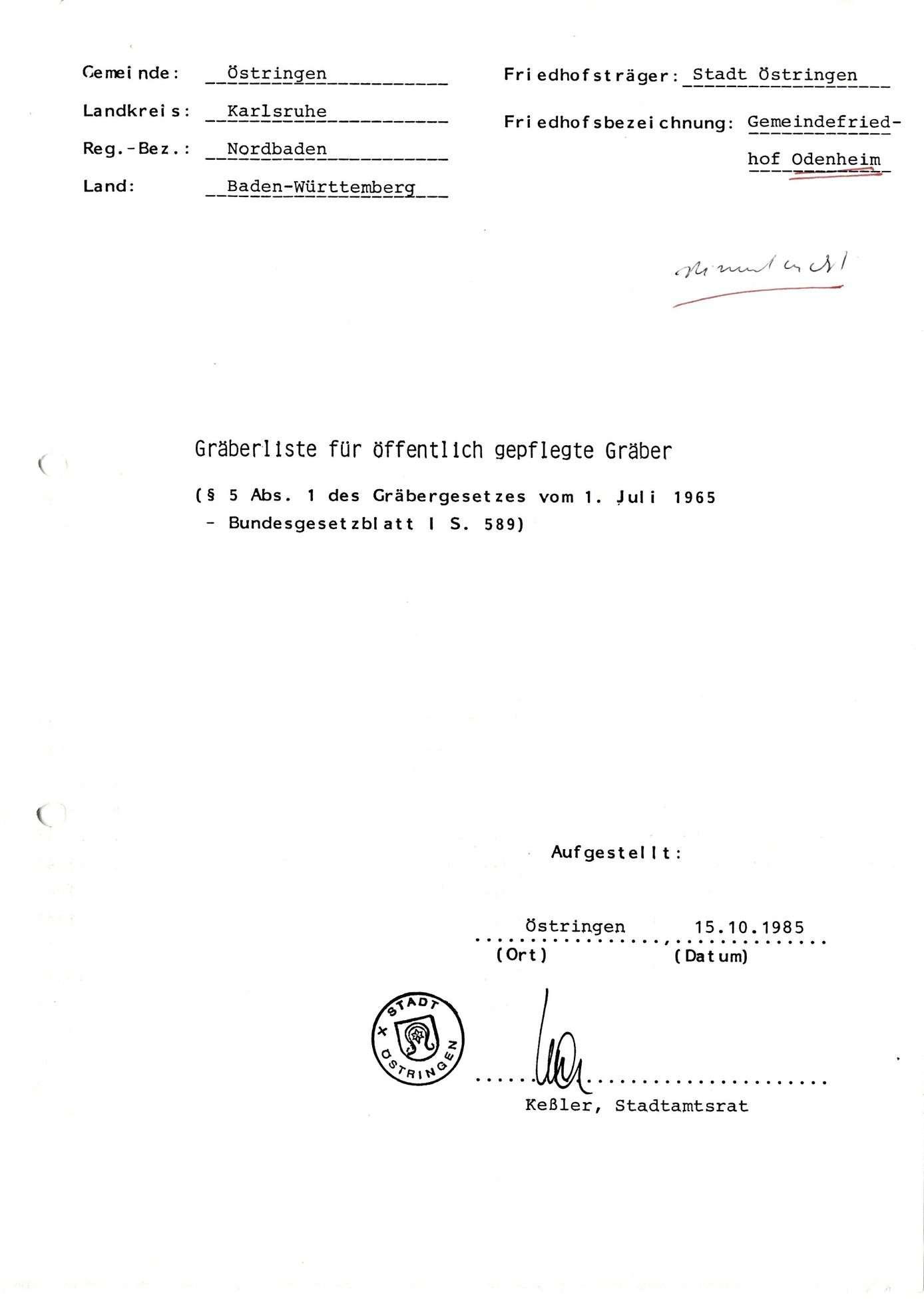 Odenheim, Bild 1