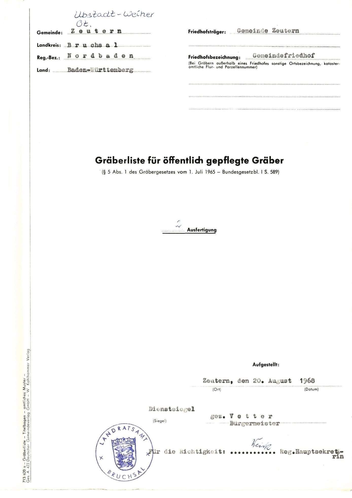 Zeutern, Bild 1