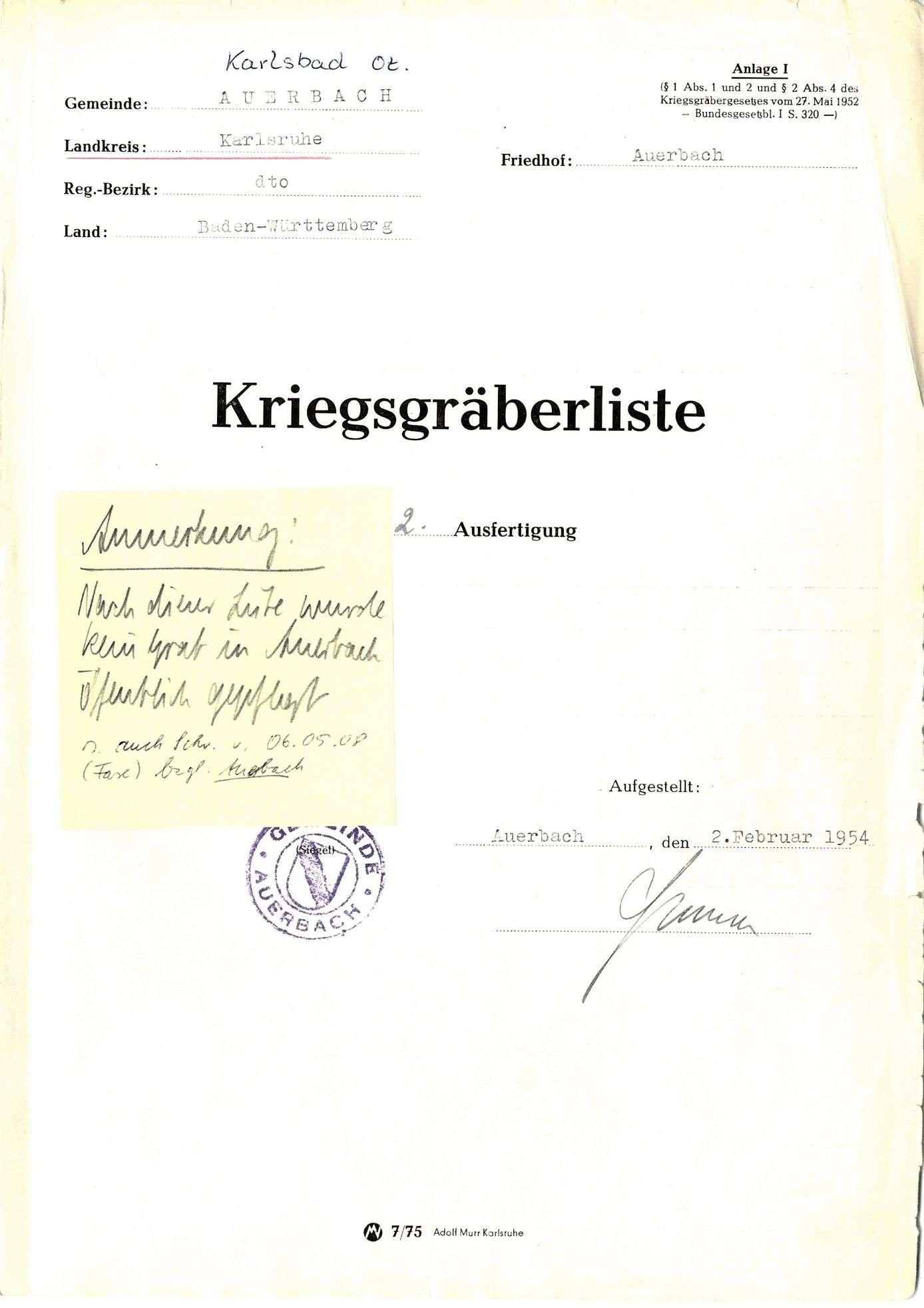 Auerbach, Bild 1