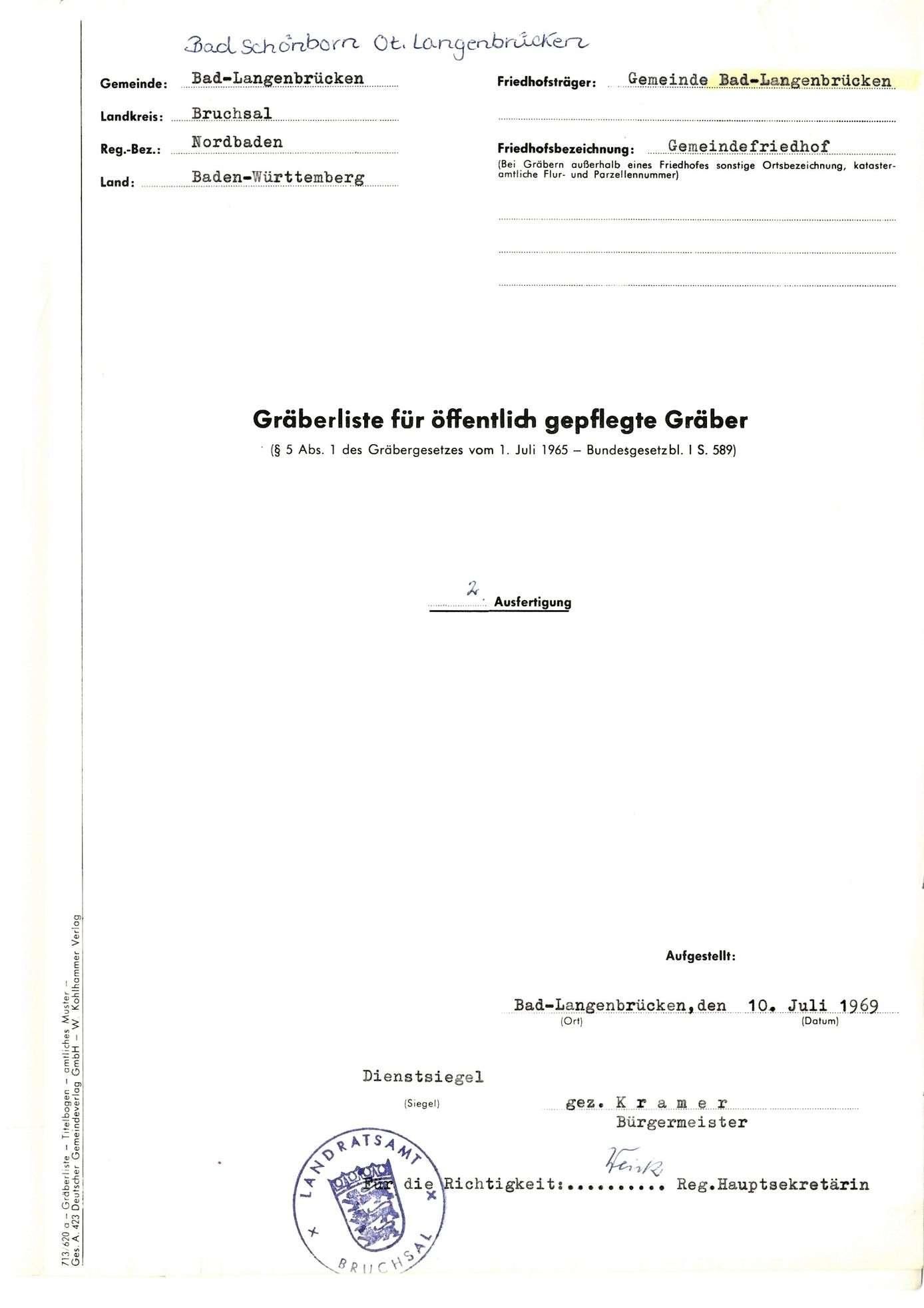 Bad Langenbrücken, Bild 1