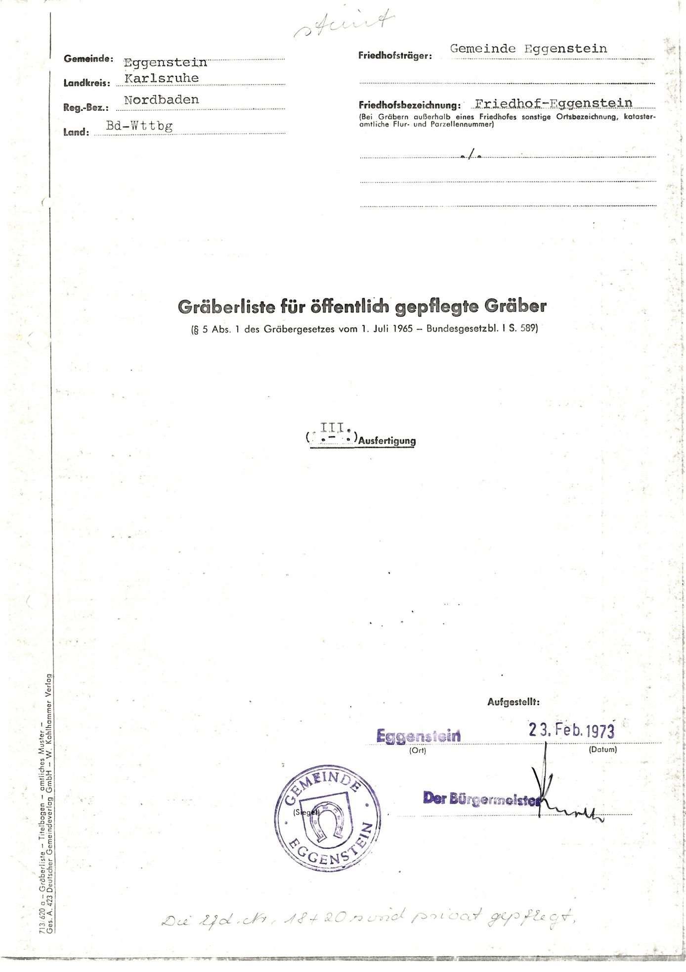 Eggenstein, Bild 1