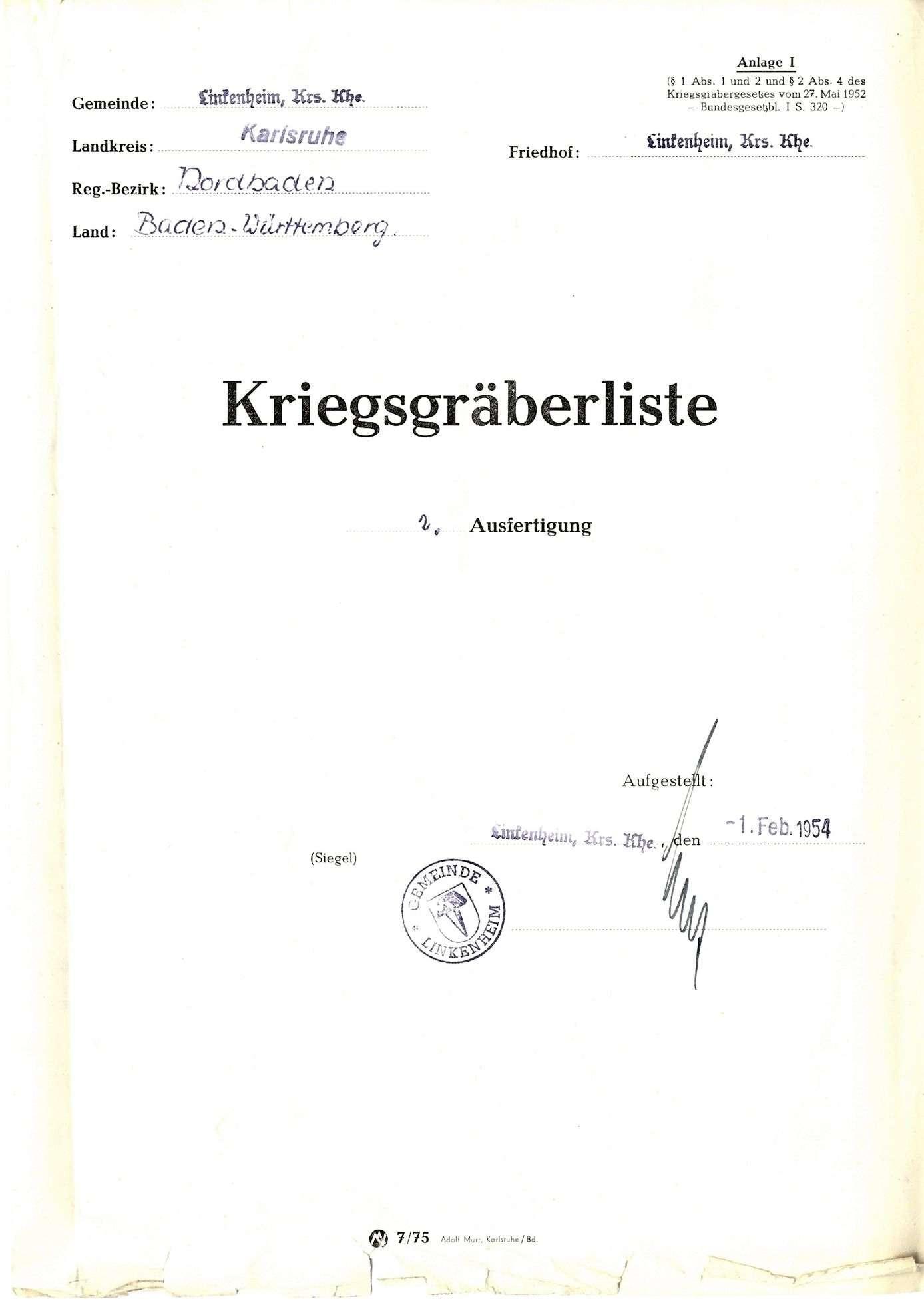 Linkenheim, Bild 1