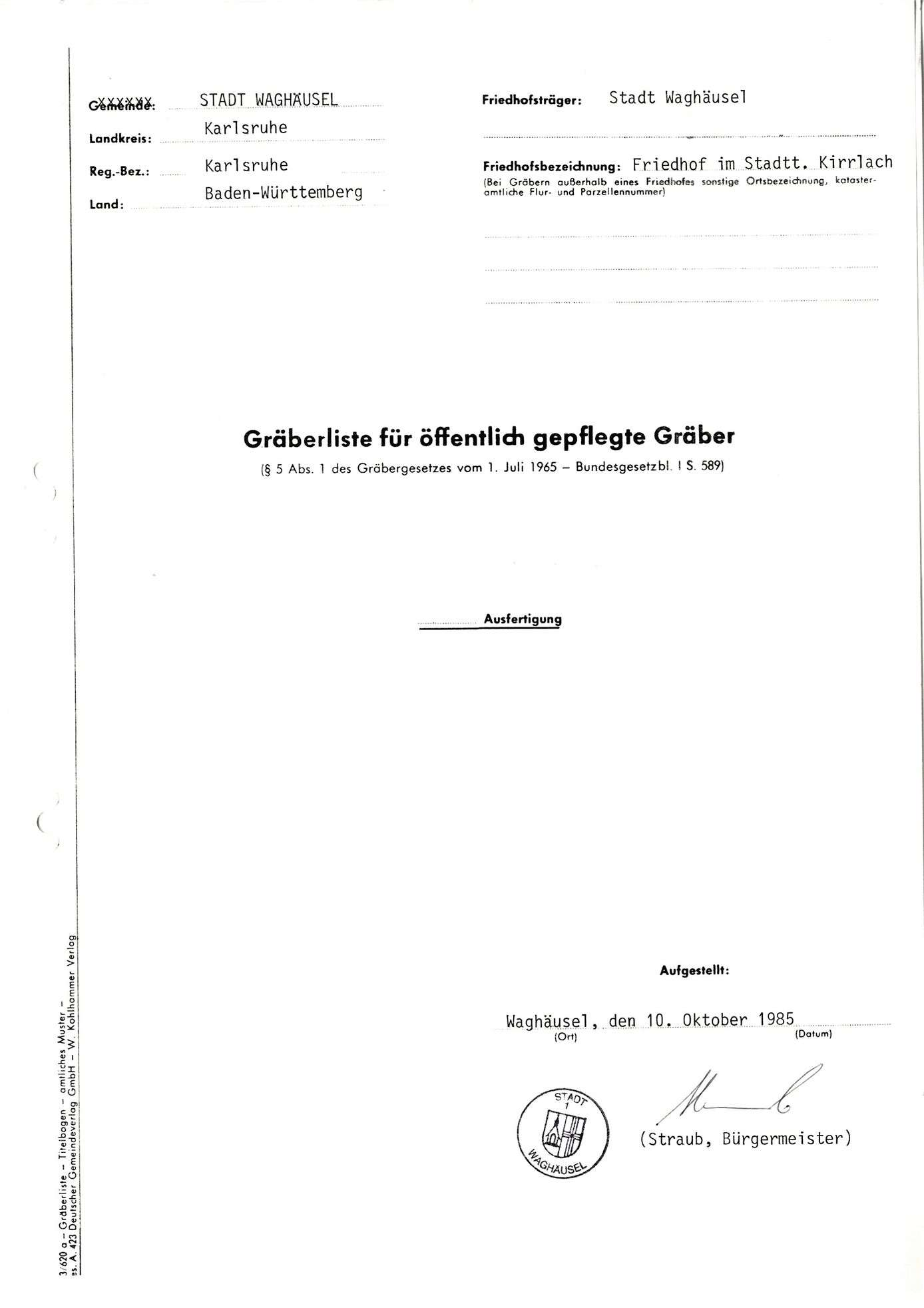 Kirrlach, Bild 1