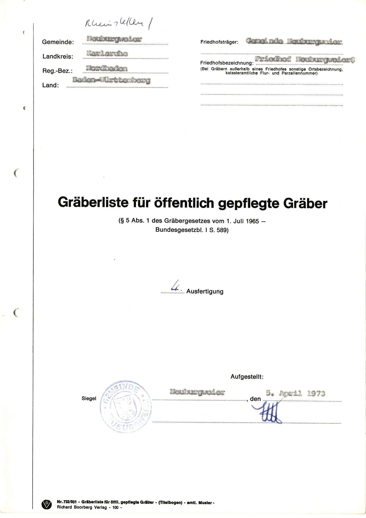 Neuburgweier, Bild 1