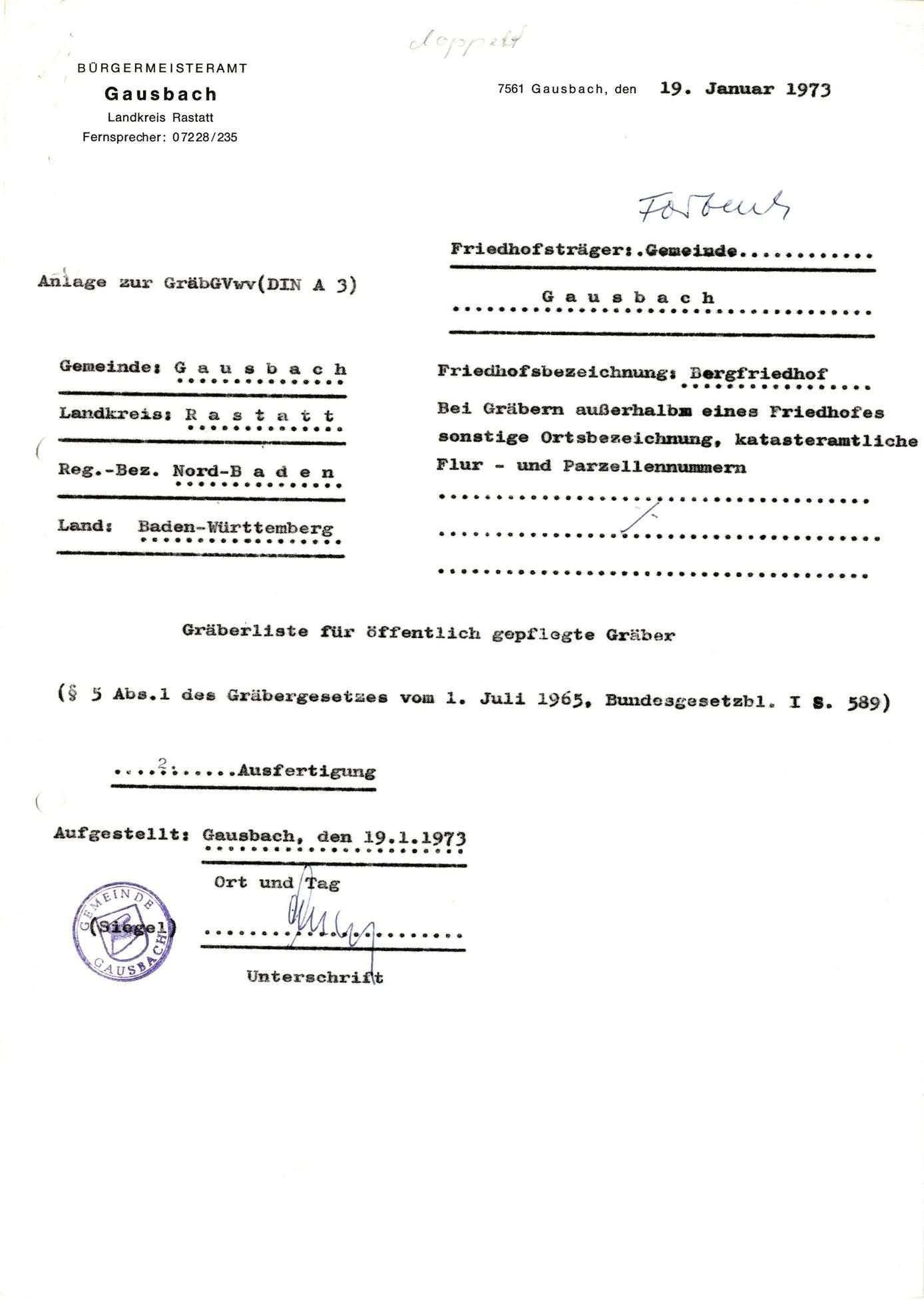 Gausbach, Bild 1
