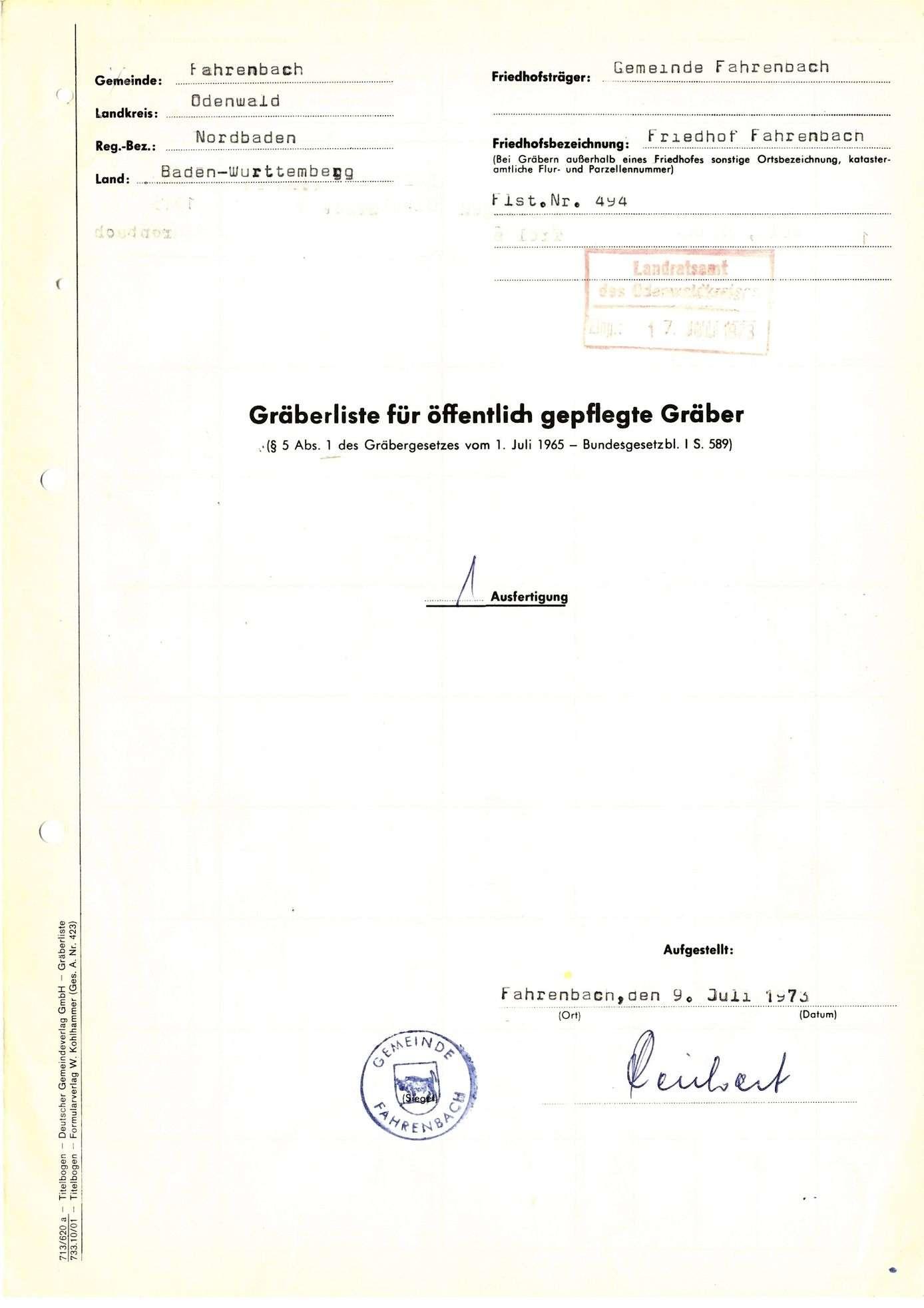 Fahrenbach, Bild 1