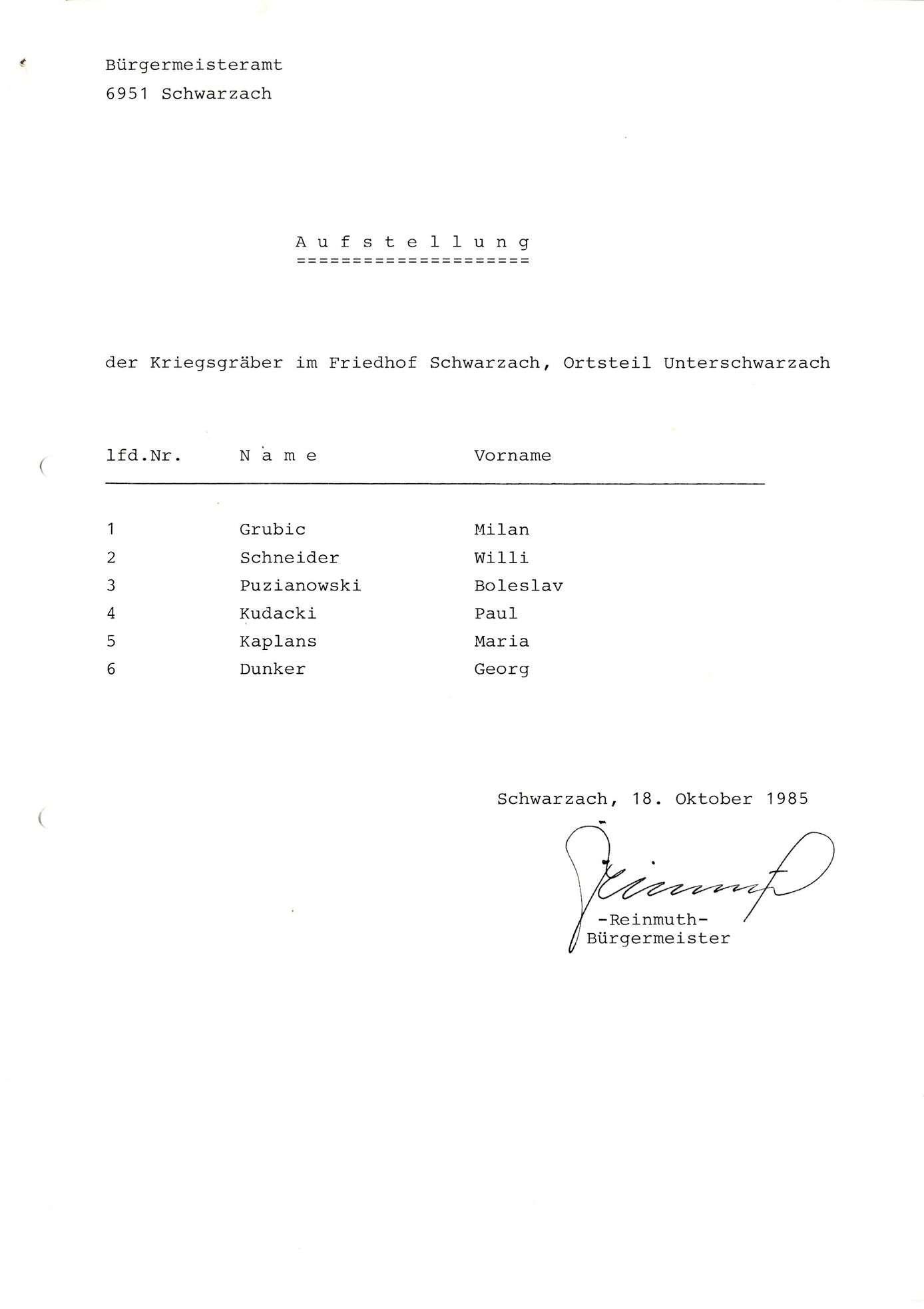 Unterschwarzach, Bild 1