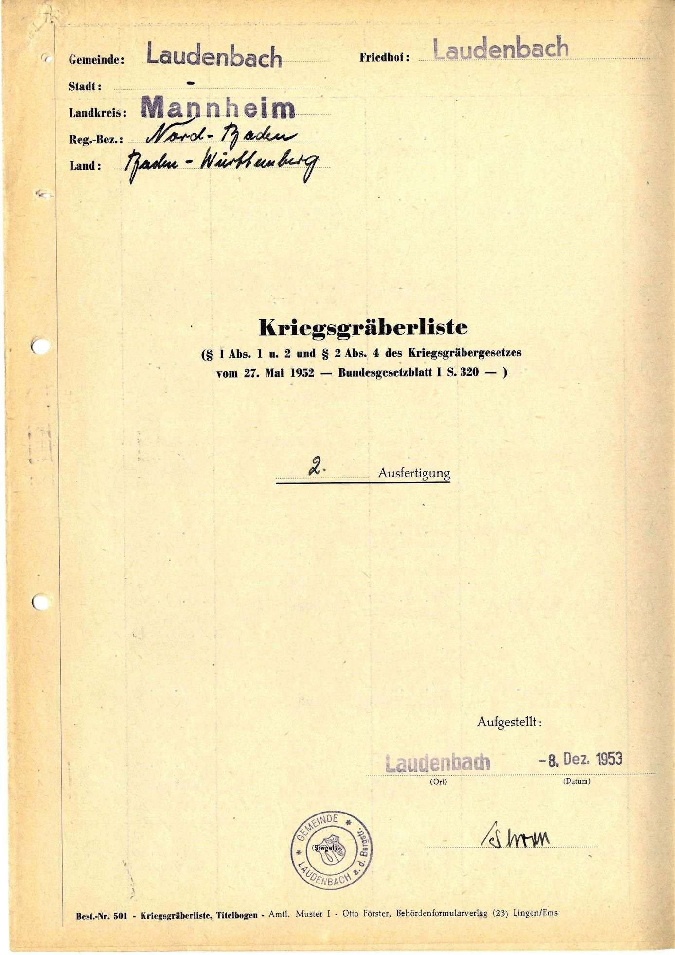 Laudenbach, Bild 1