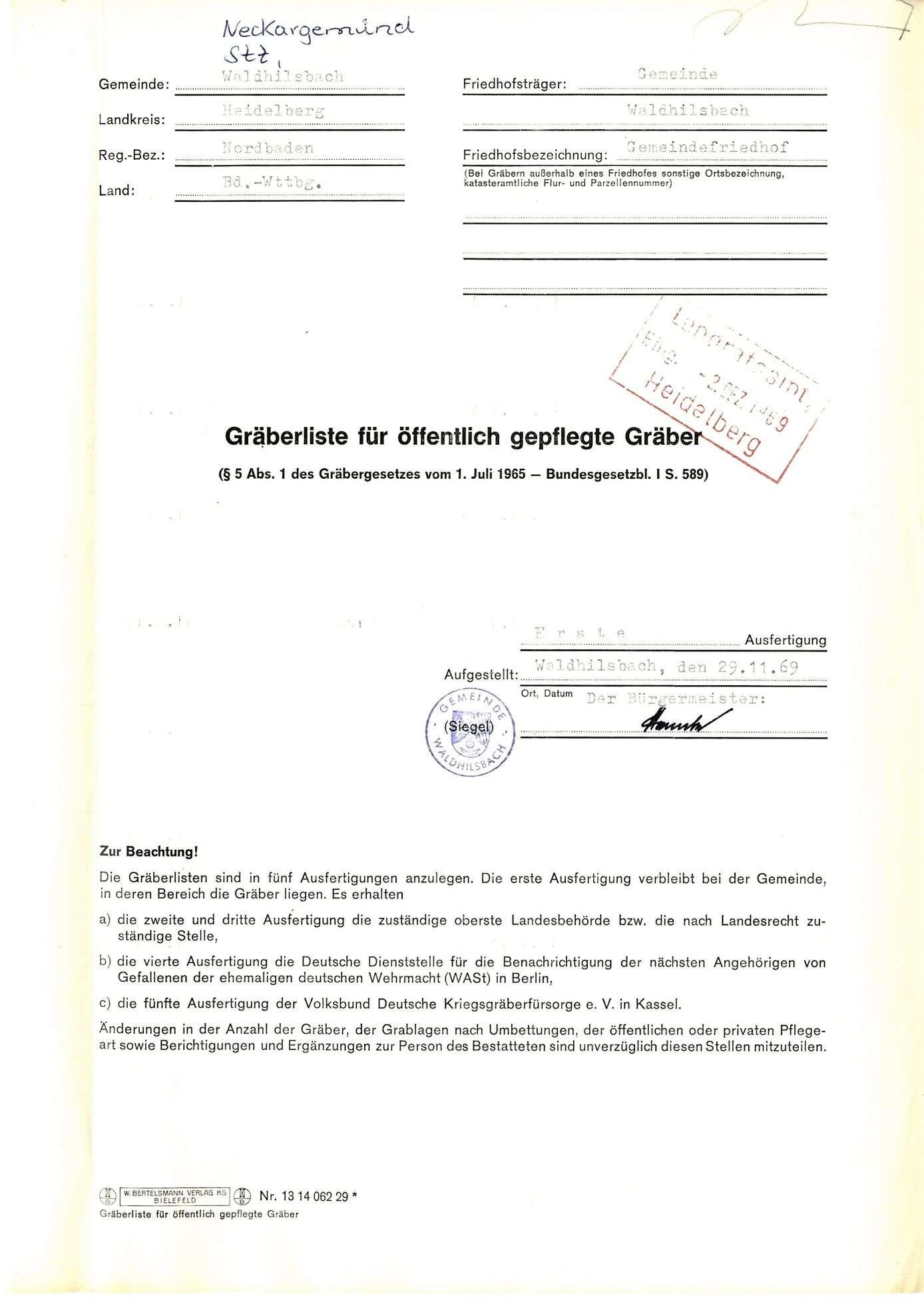 Waldhilsbach, Bild 1