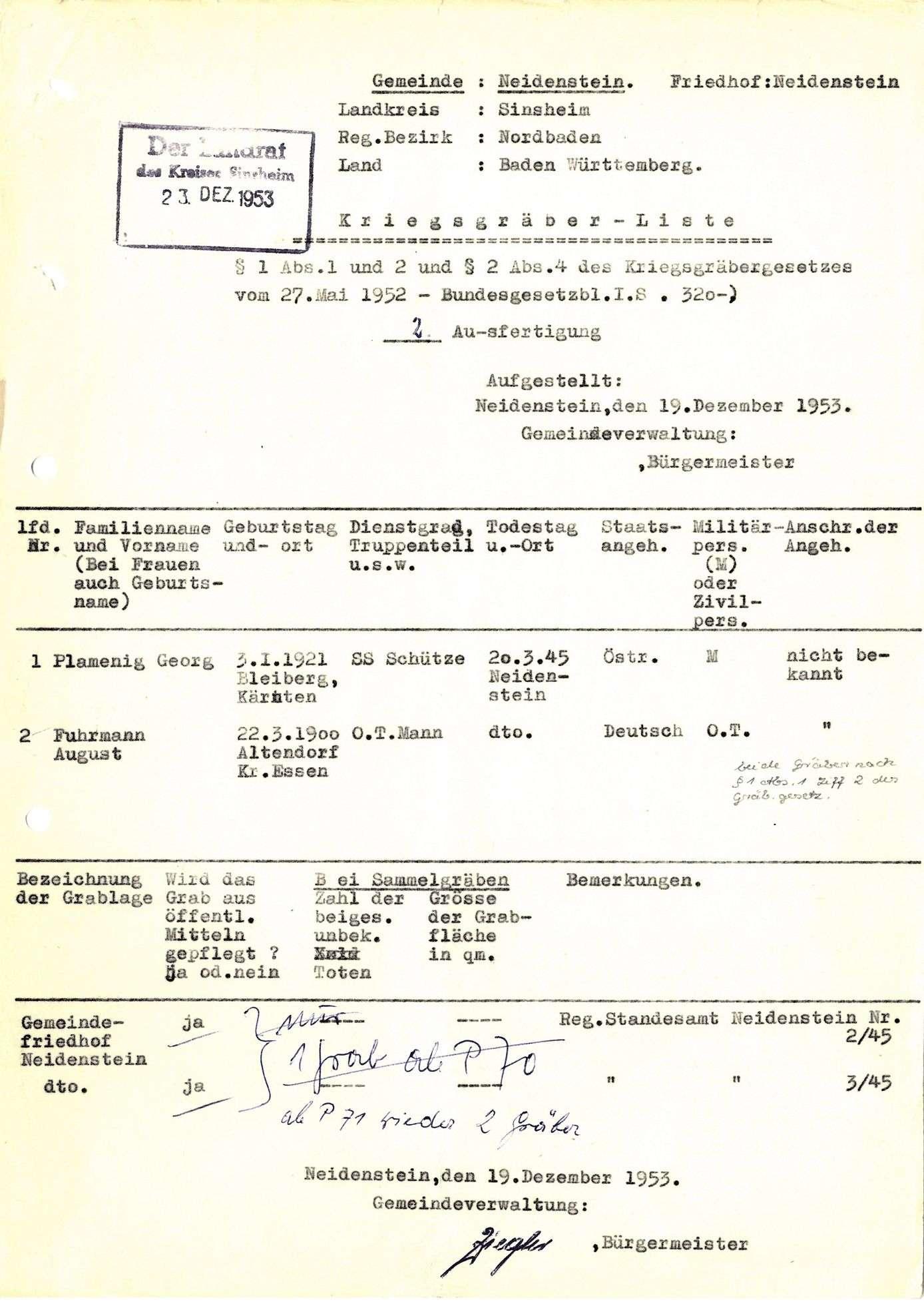 Neidenstein, Bild 1