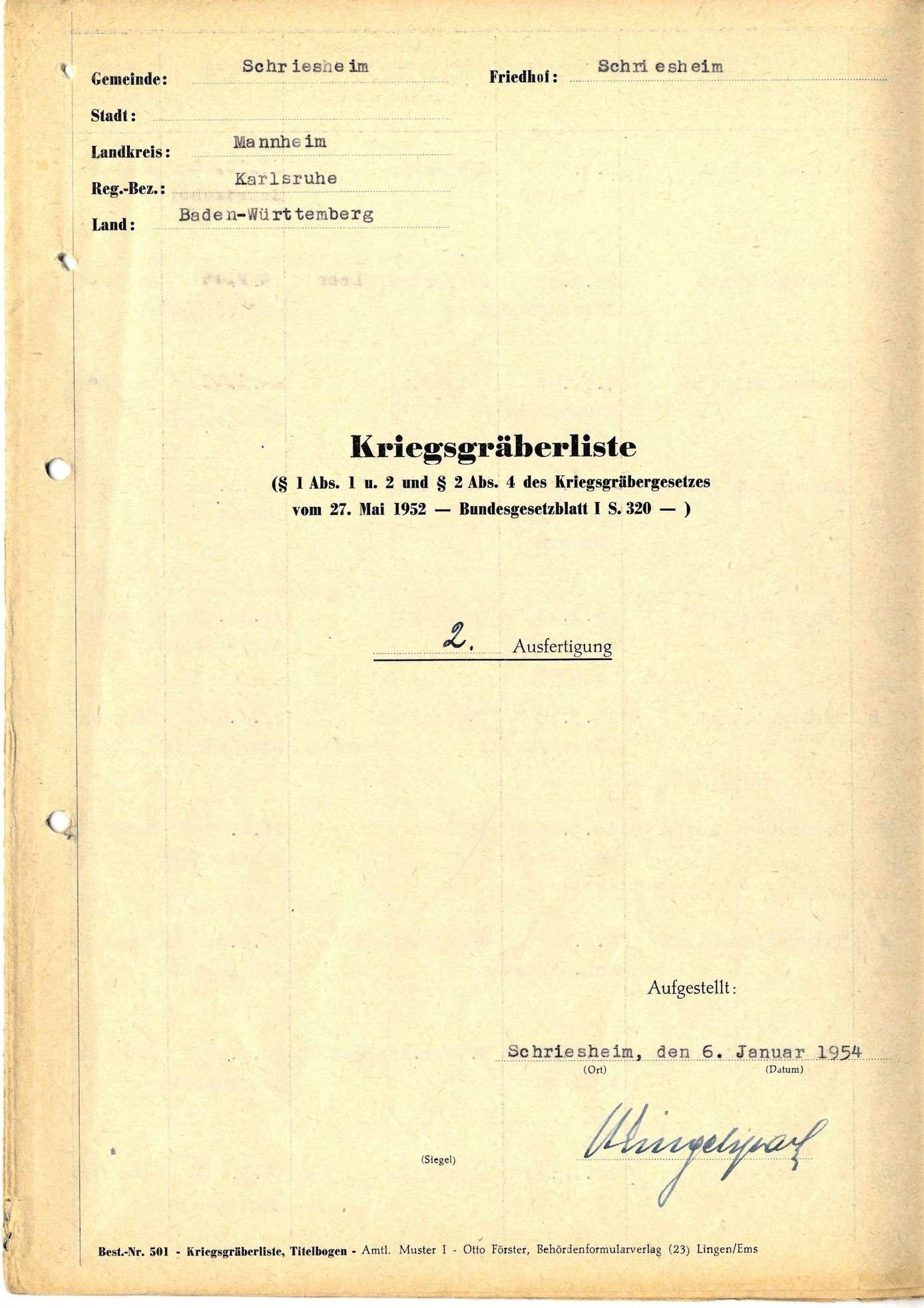 Schriesheim, Bild 1