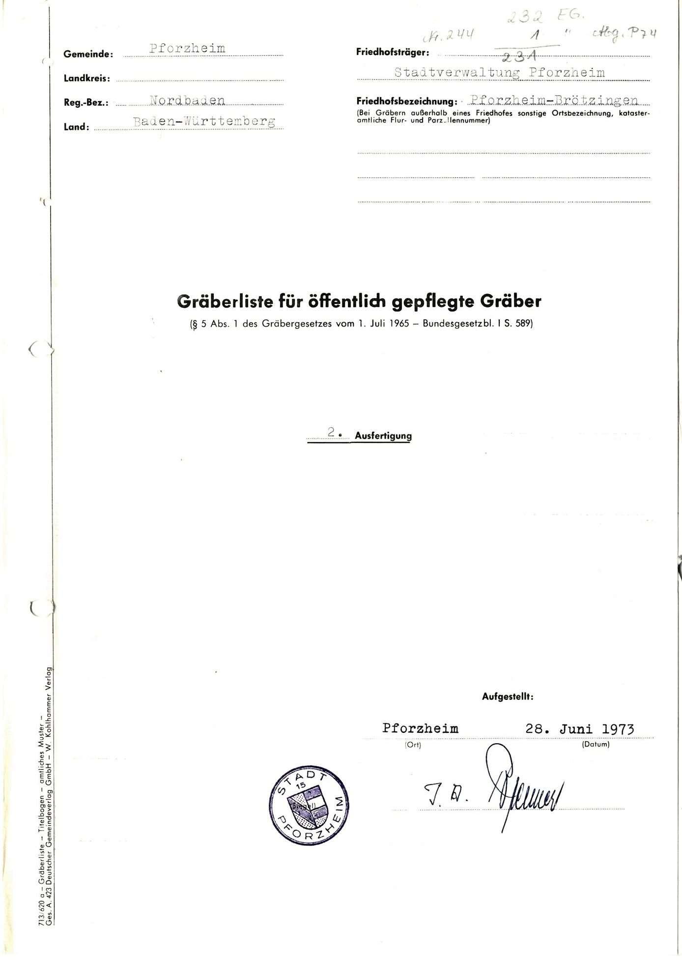 Brötzingen, Bild 1