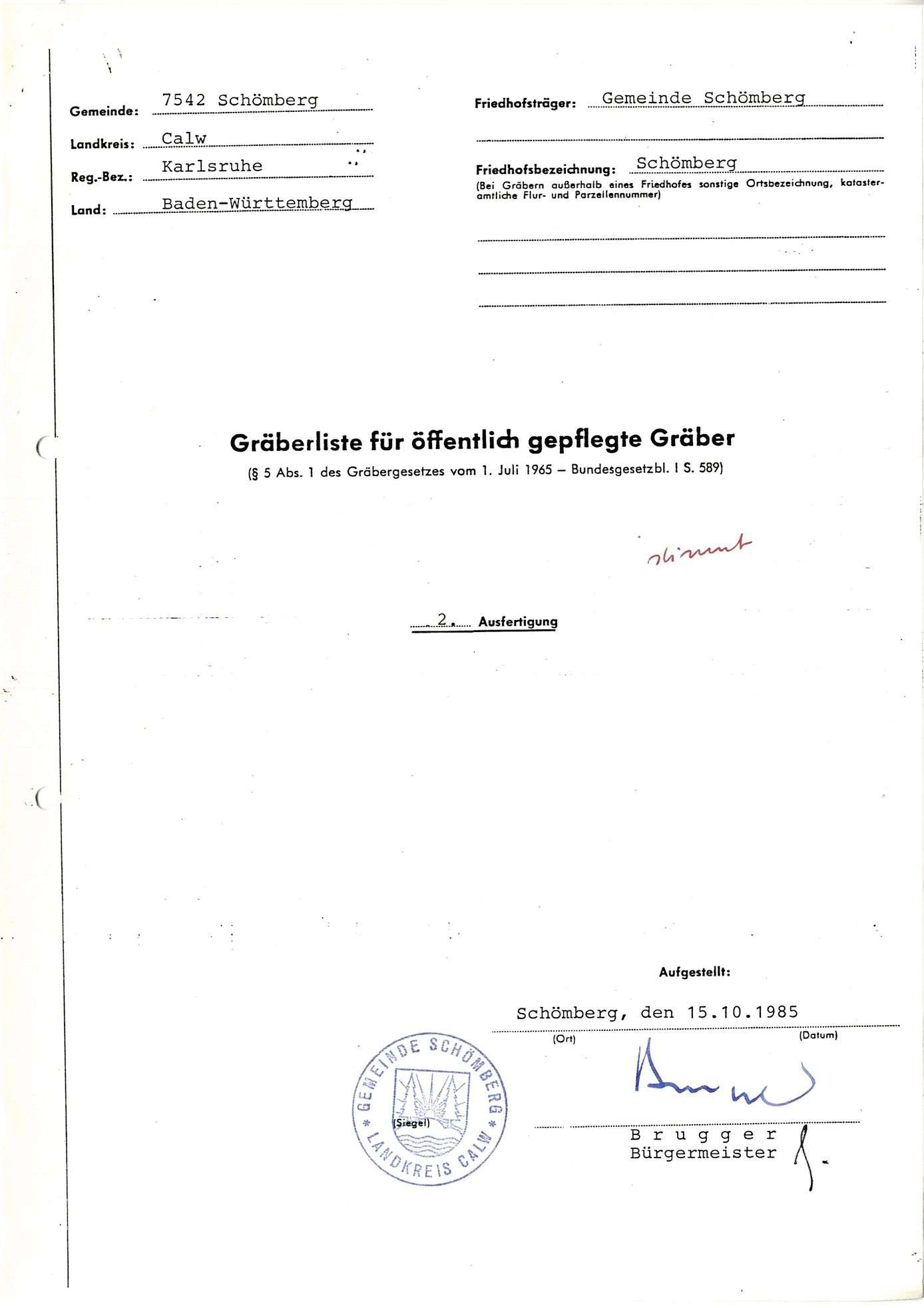 Schömberg, Bild 1