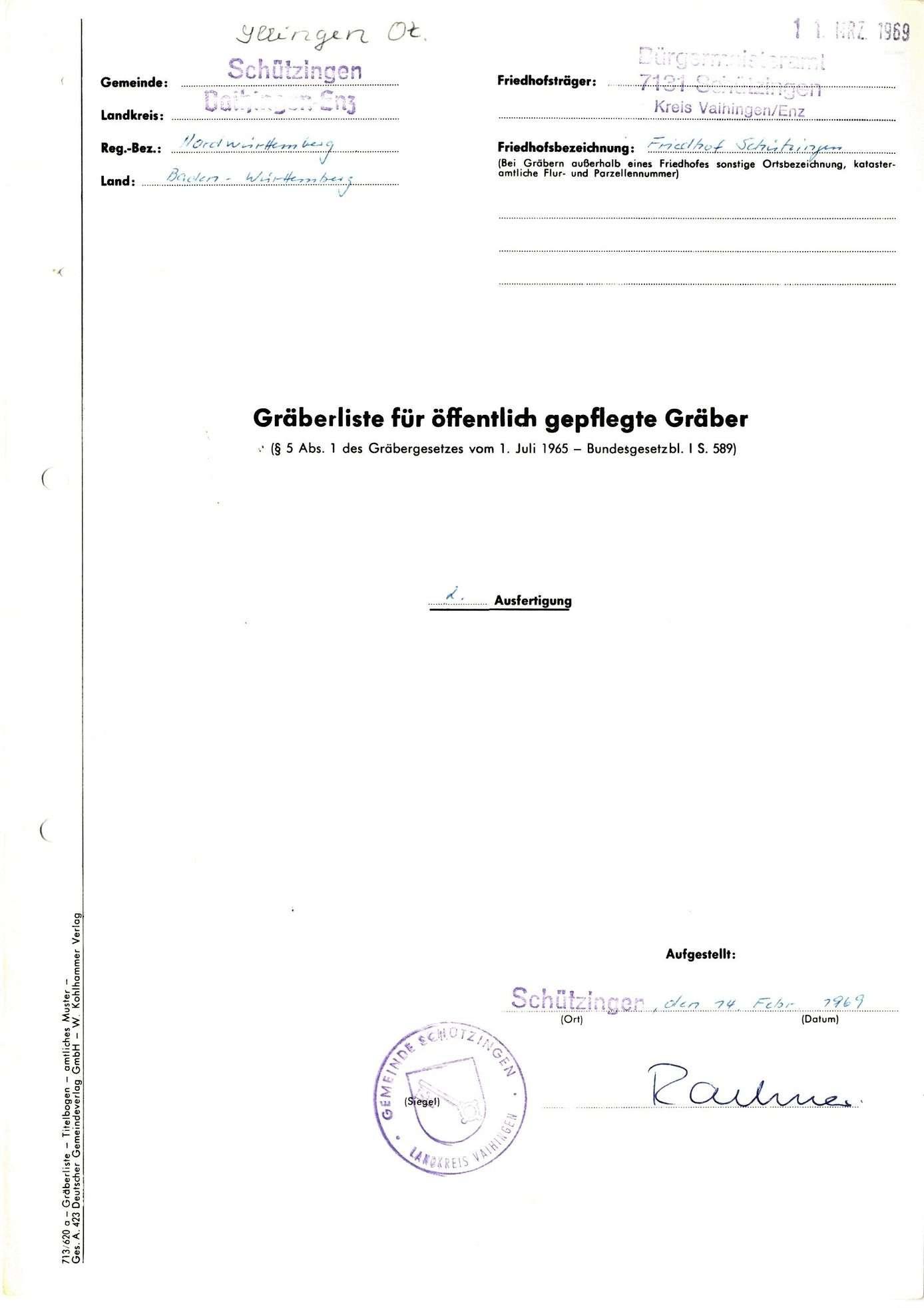 Schützingen, Bild 1