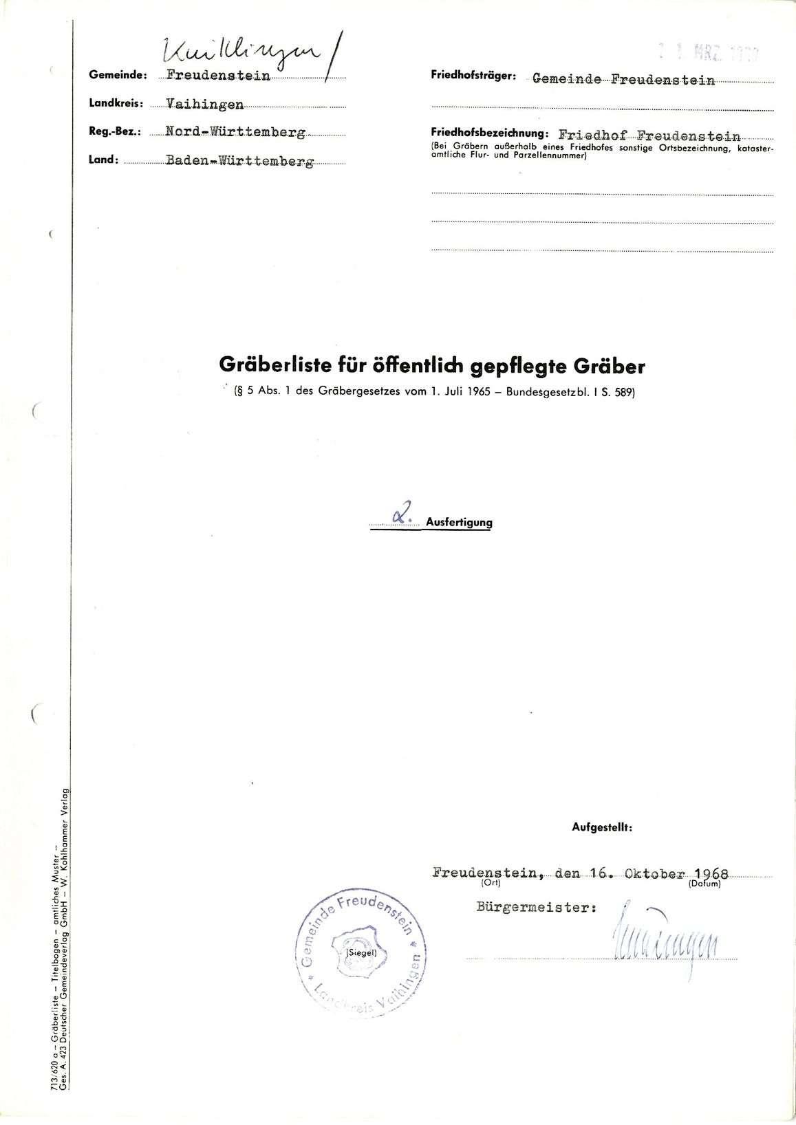 Freudenstein, Bild 1