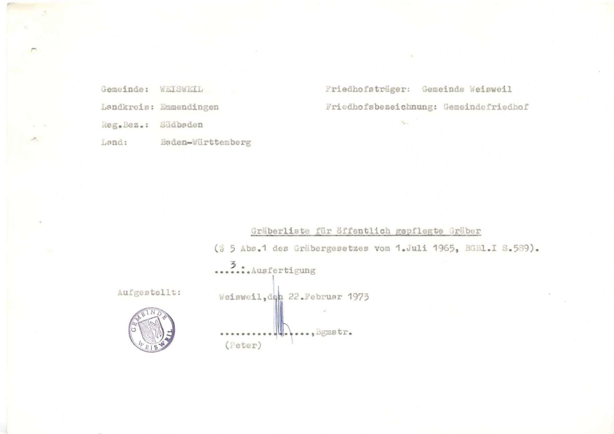 Weisweil, Bild 1