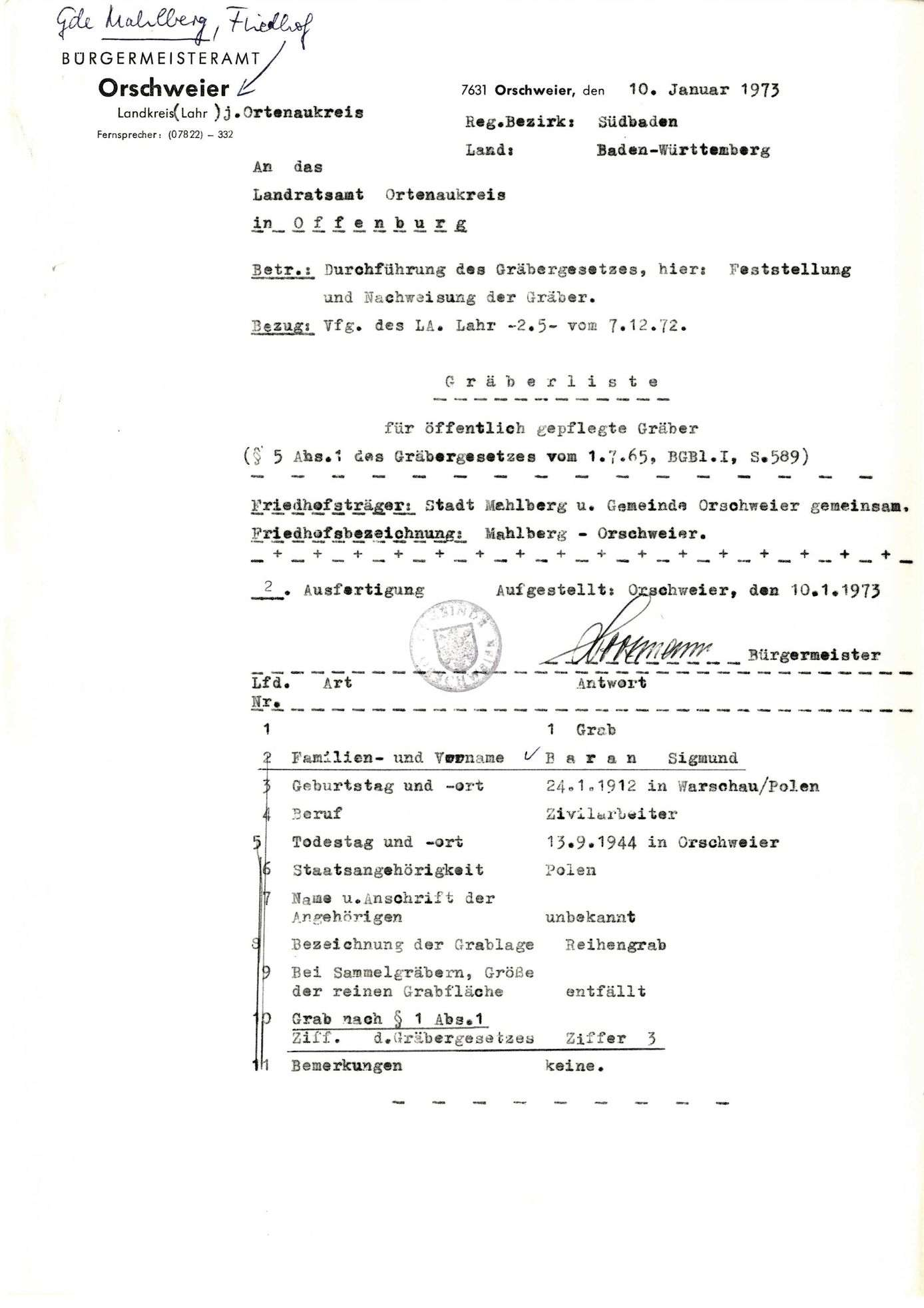 Orschweier, Bild 1