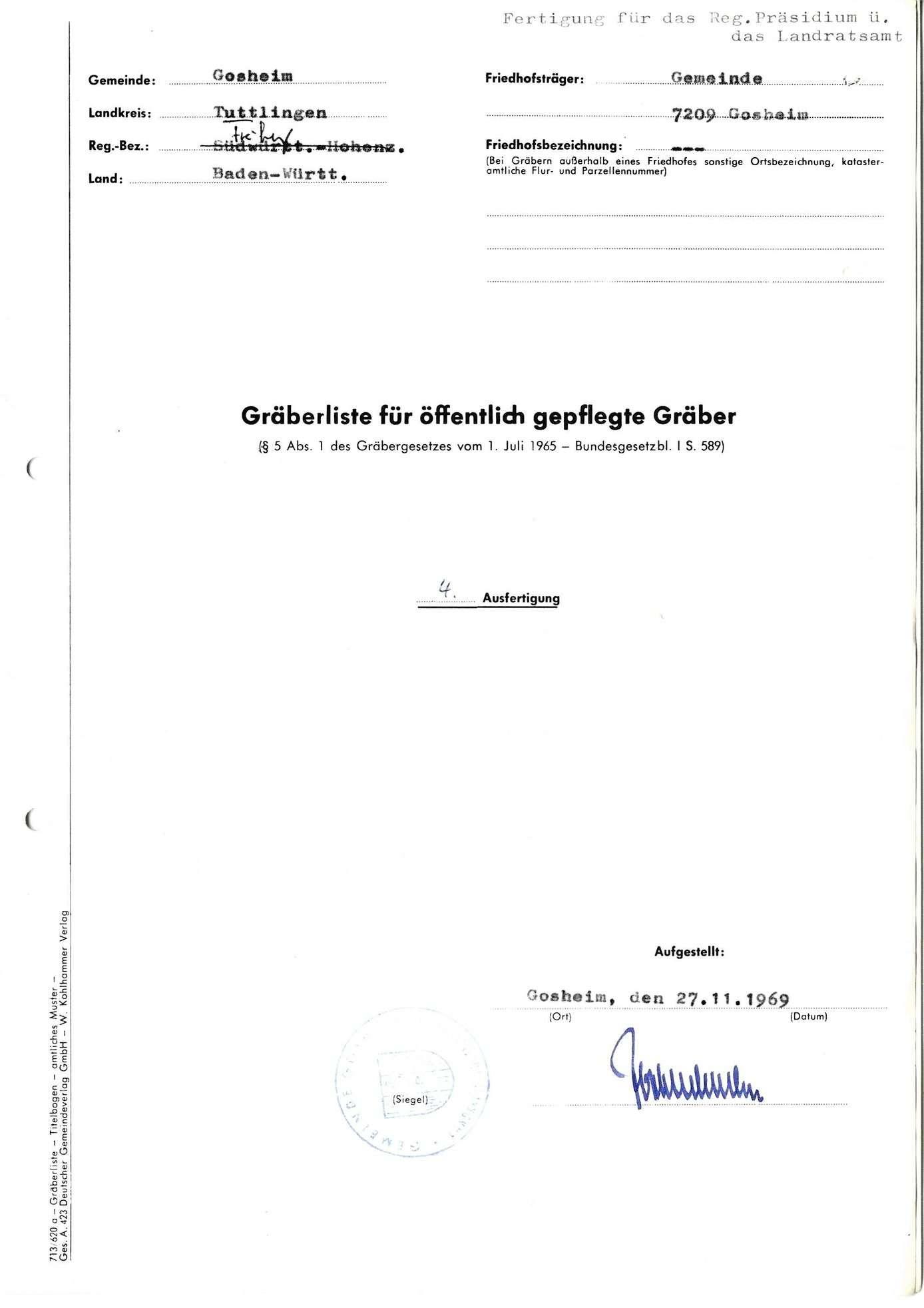 Gosheim, Bild 1