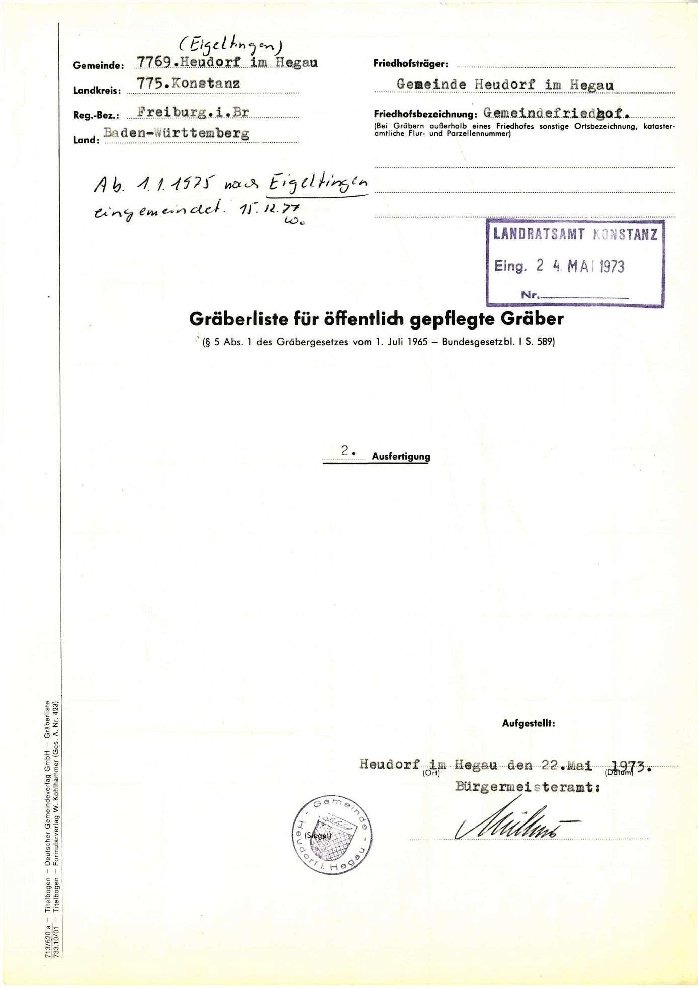 Heudorf im Hegau, Bild 1