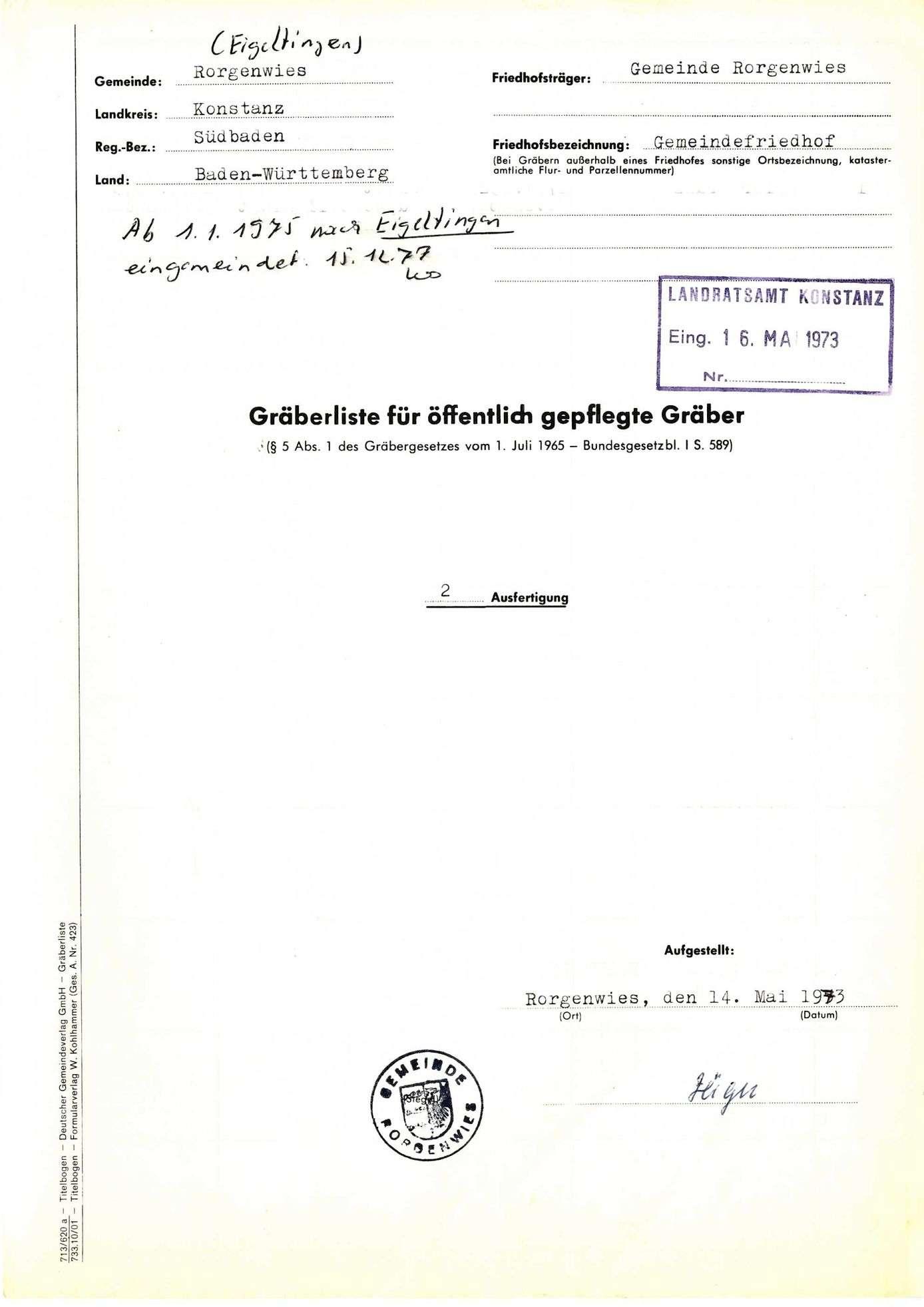 Rorgenwies, Bild 1