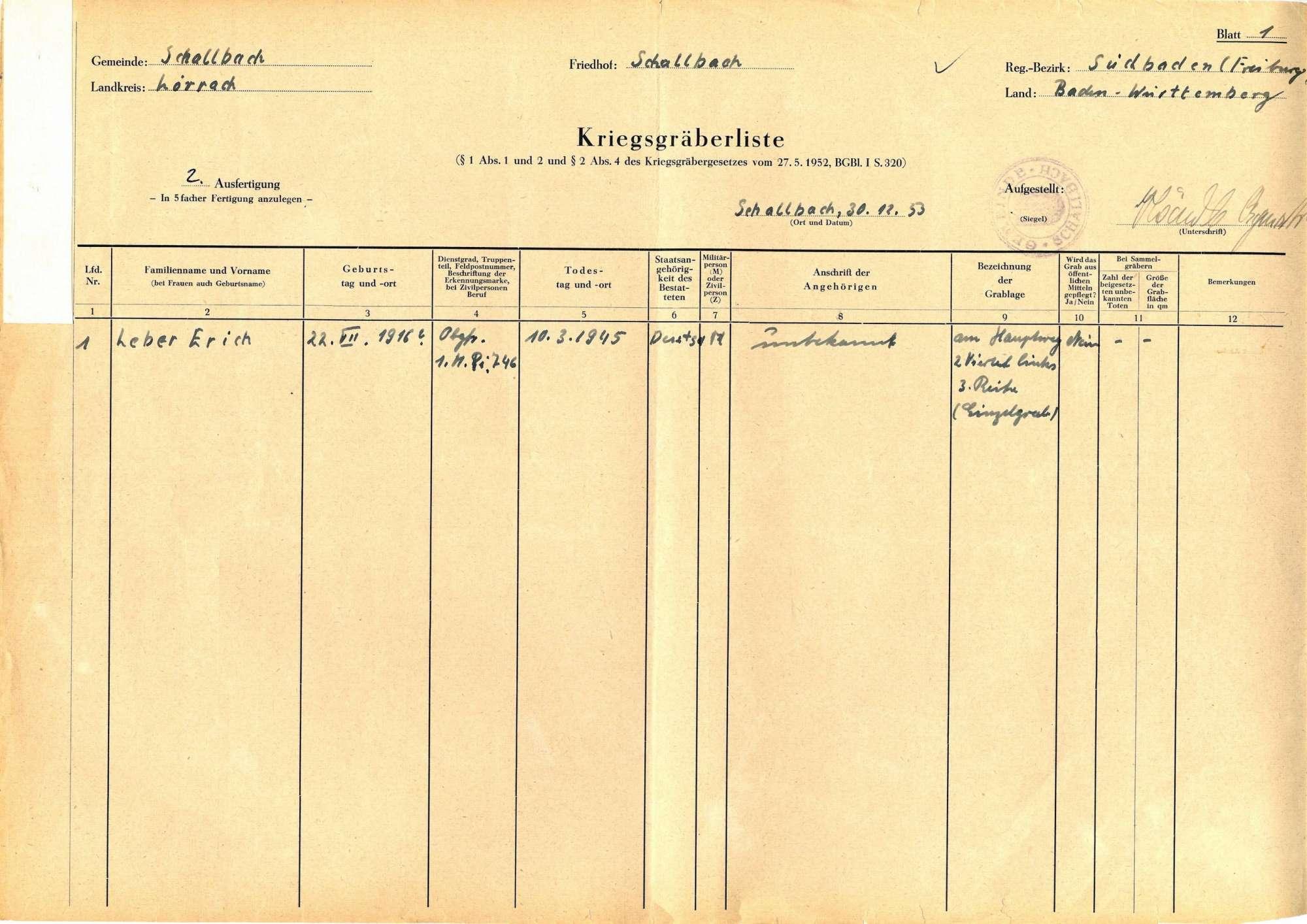 Schallbach, Bild 1