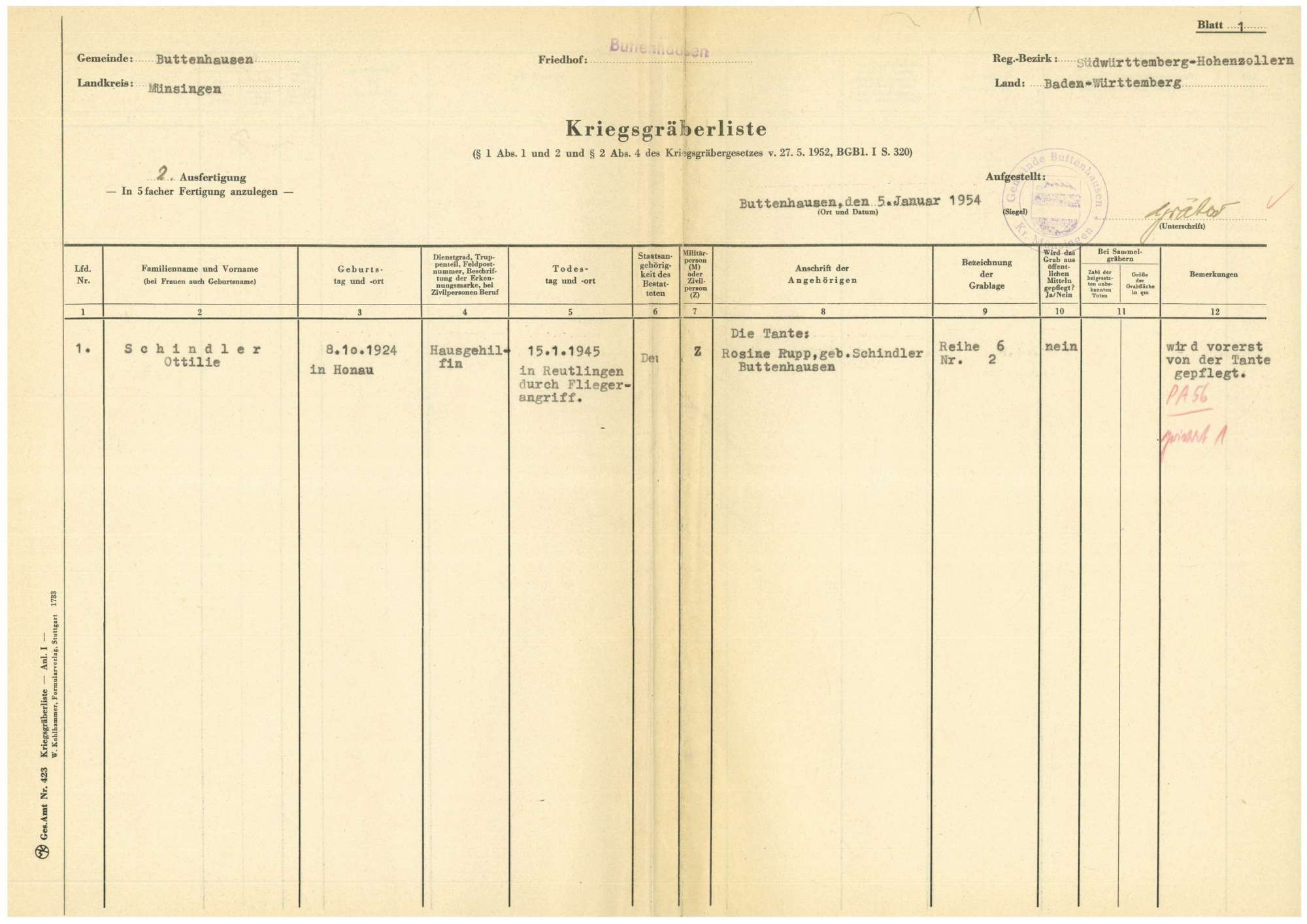 Buttenhausen, Bild 1