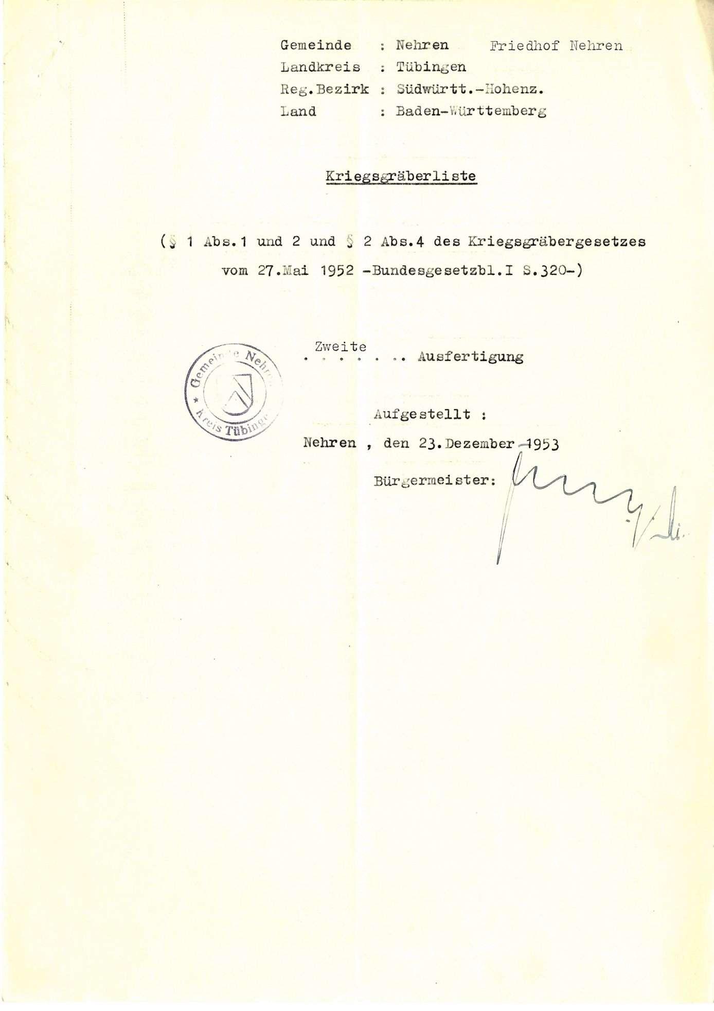 Nehren, Bild 1