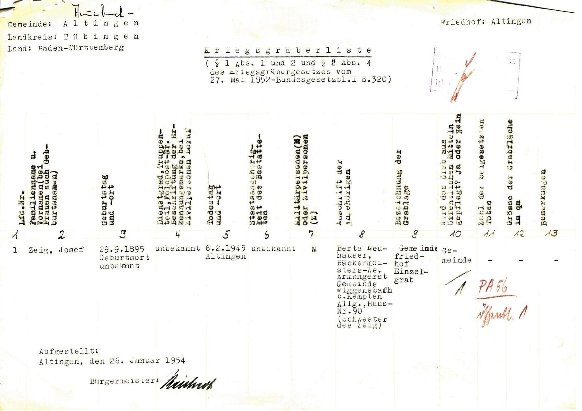 Altingen, Bild 1