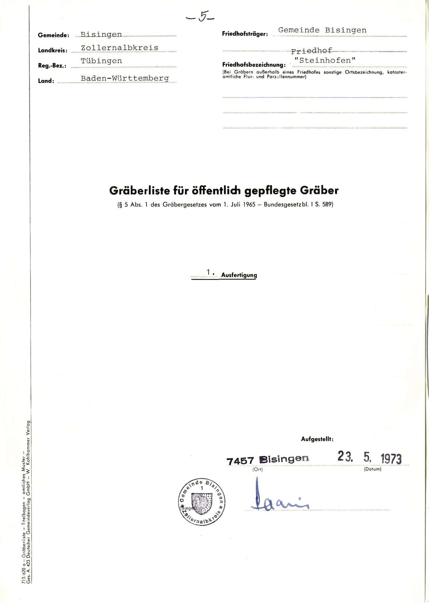 Steinhofen, Bild 1