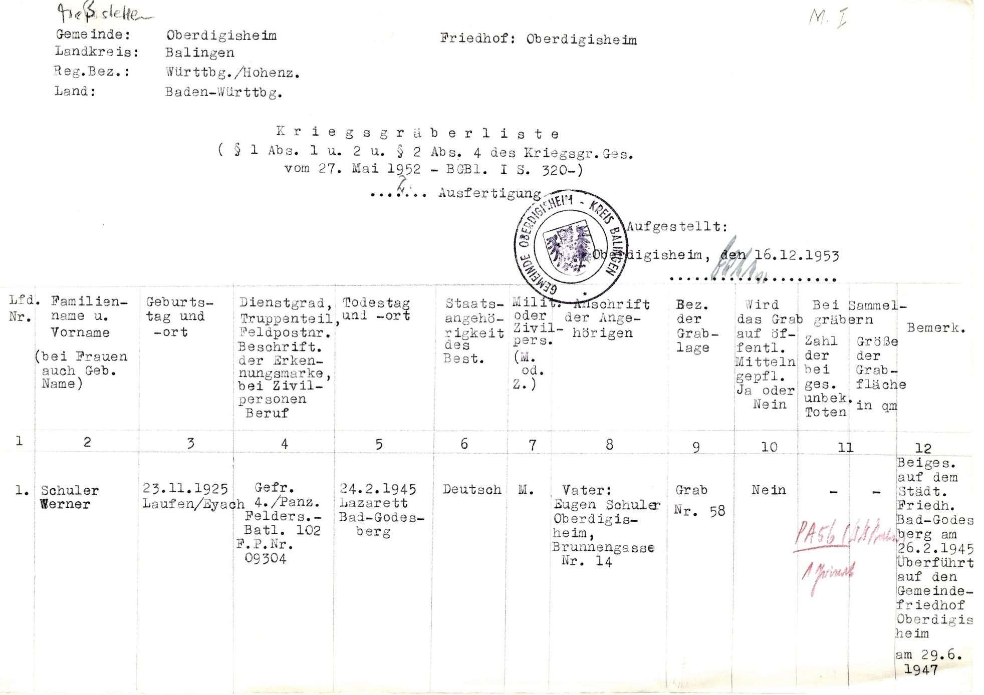 Oberdigisheim, Bild 1