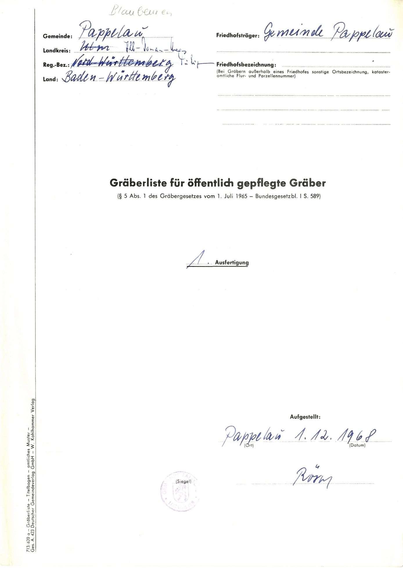 Pappelau, Bild 1