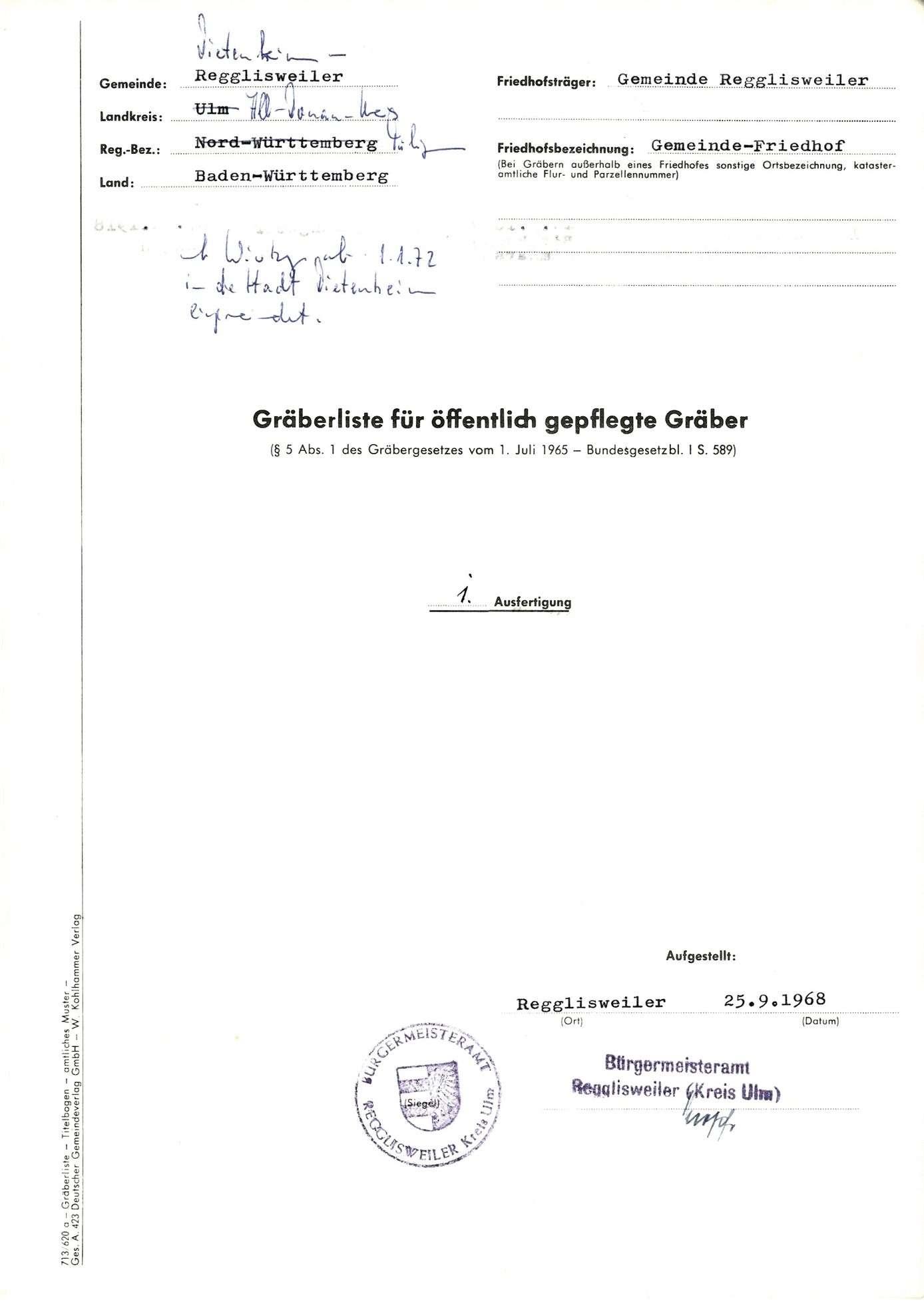 Regglisweiler, Bild 1