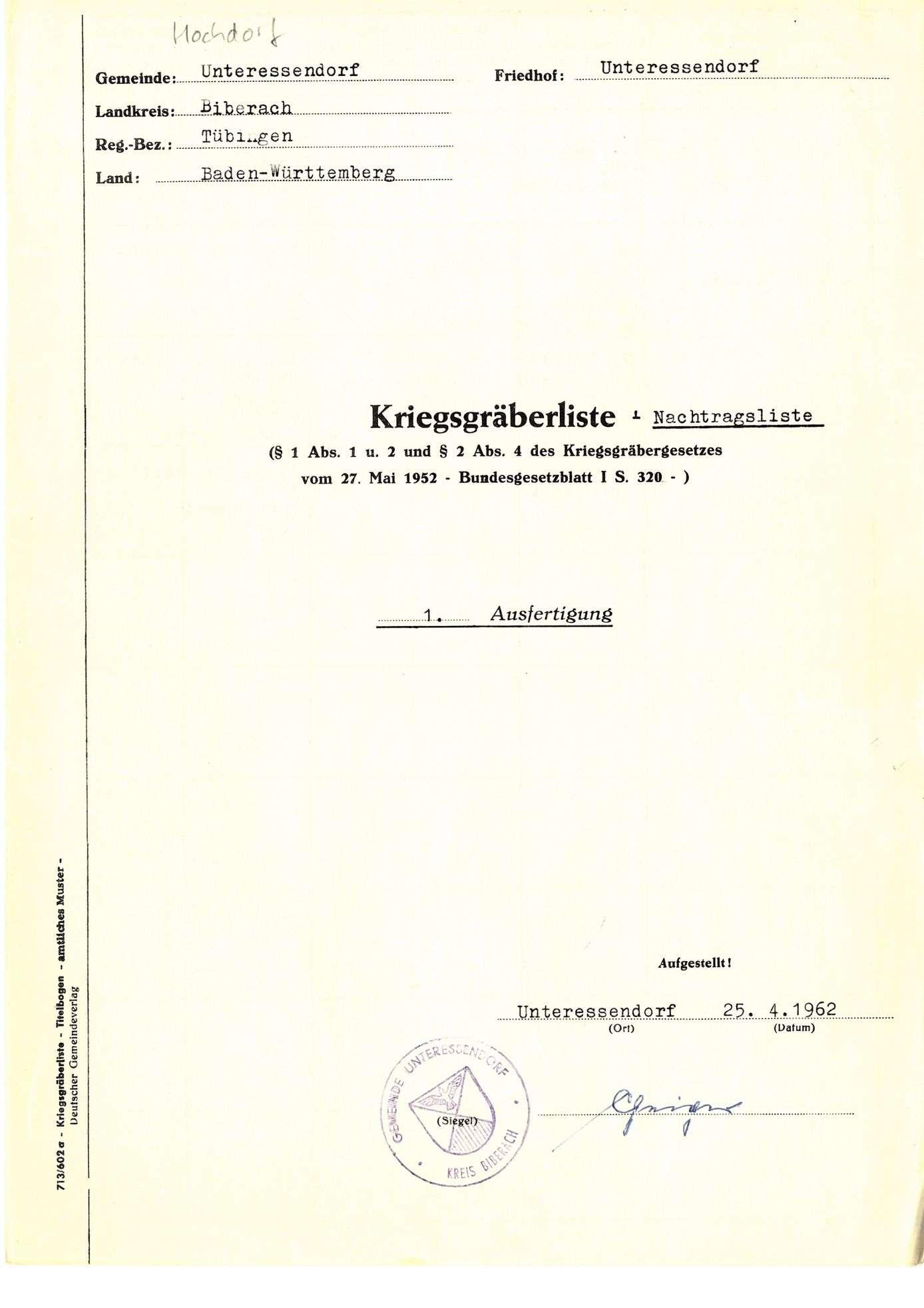 Unteressendorf, Bild 1
