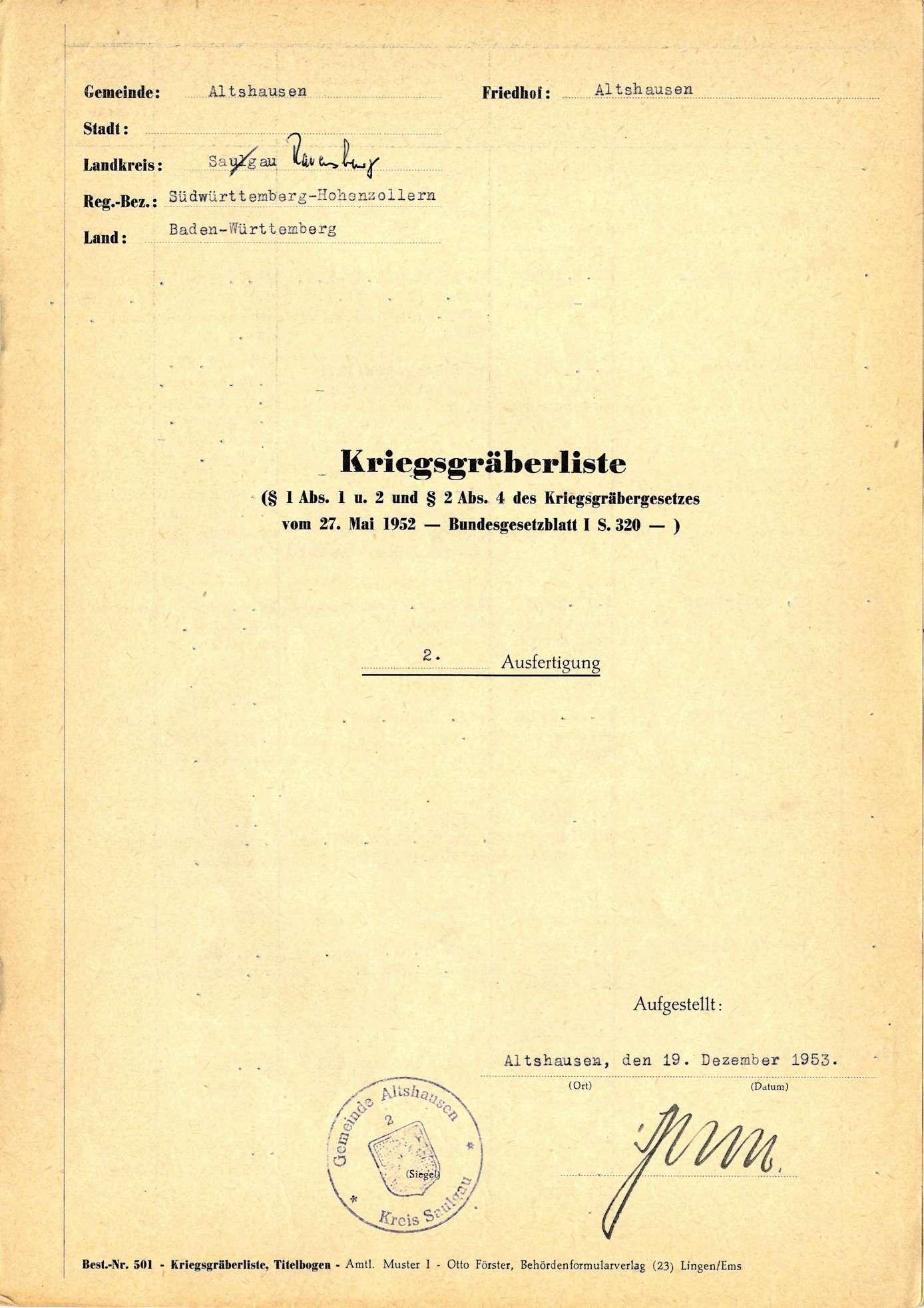 Altshausen, Bild 1