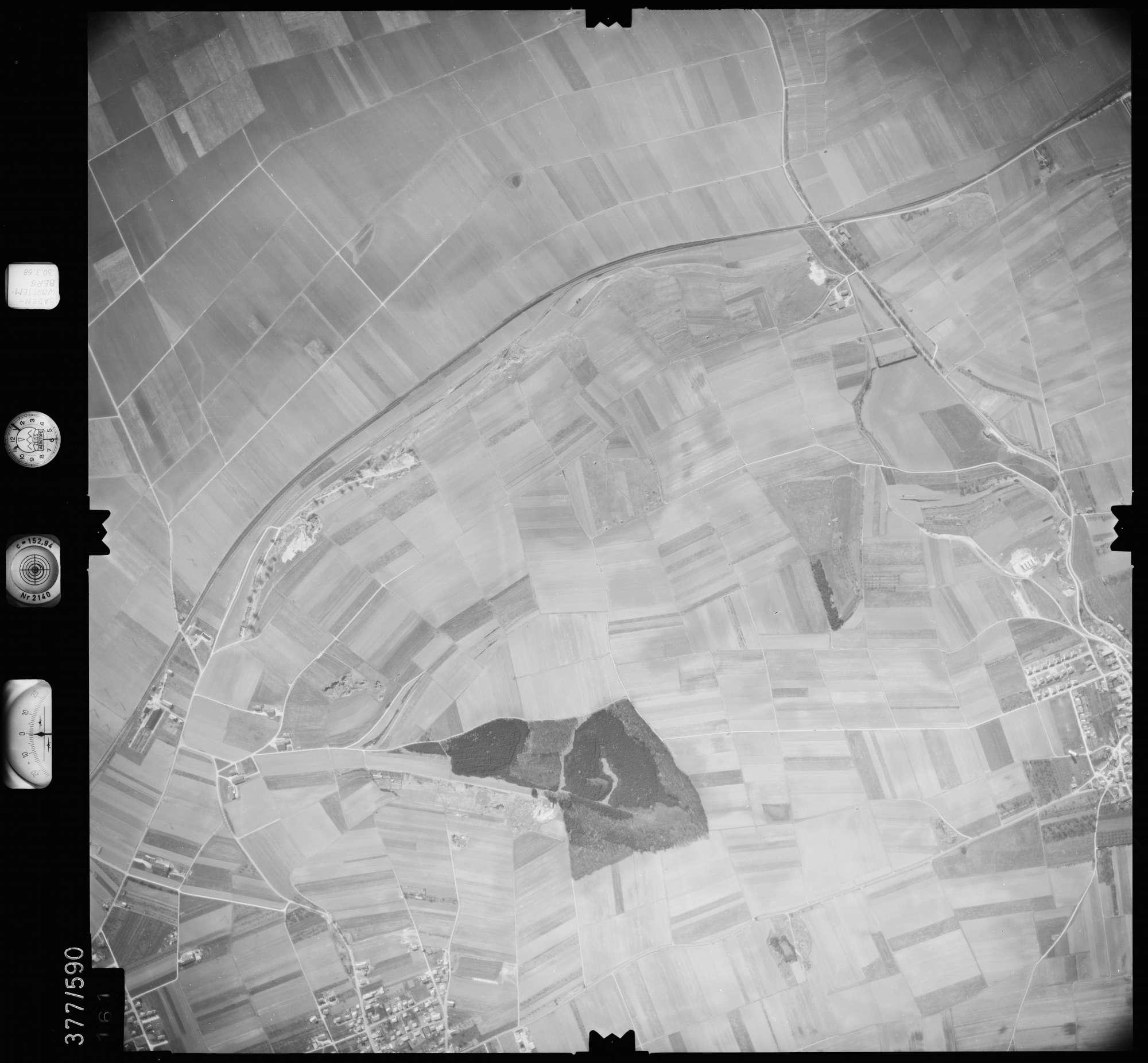 Luftbild: Film 27 Bildnr. 161, Bild 1
