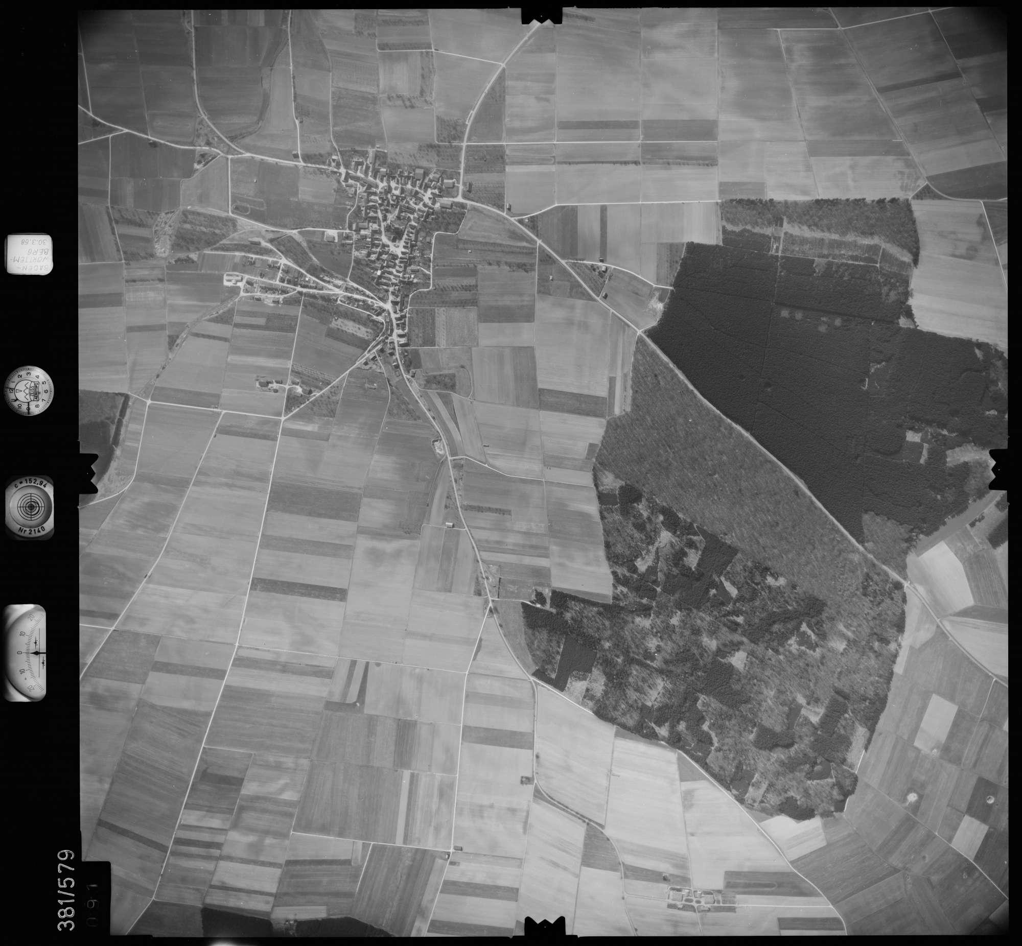 Luftbild: Film 27 Bildnr. 91, Bild 1
