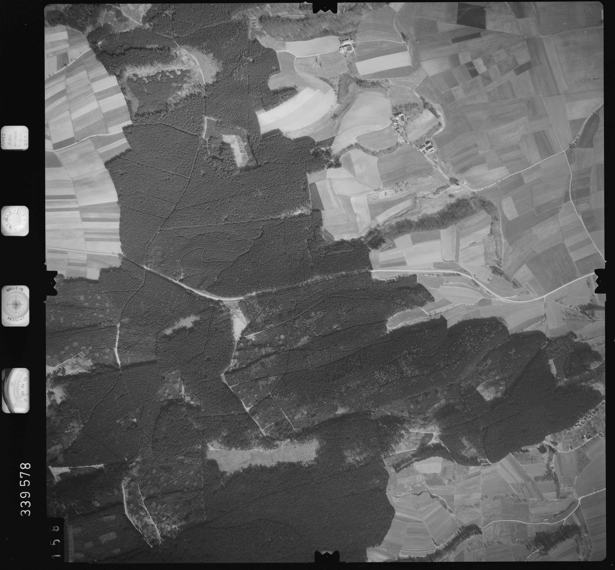 Luftbild: Film 50 Bildnr. 158, Bild 1