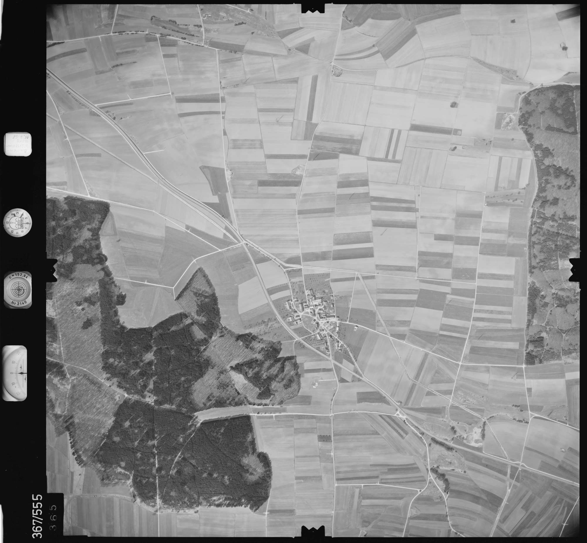 Luftbild: Film 34 Bildnr. 365, Bild 1