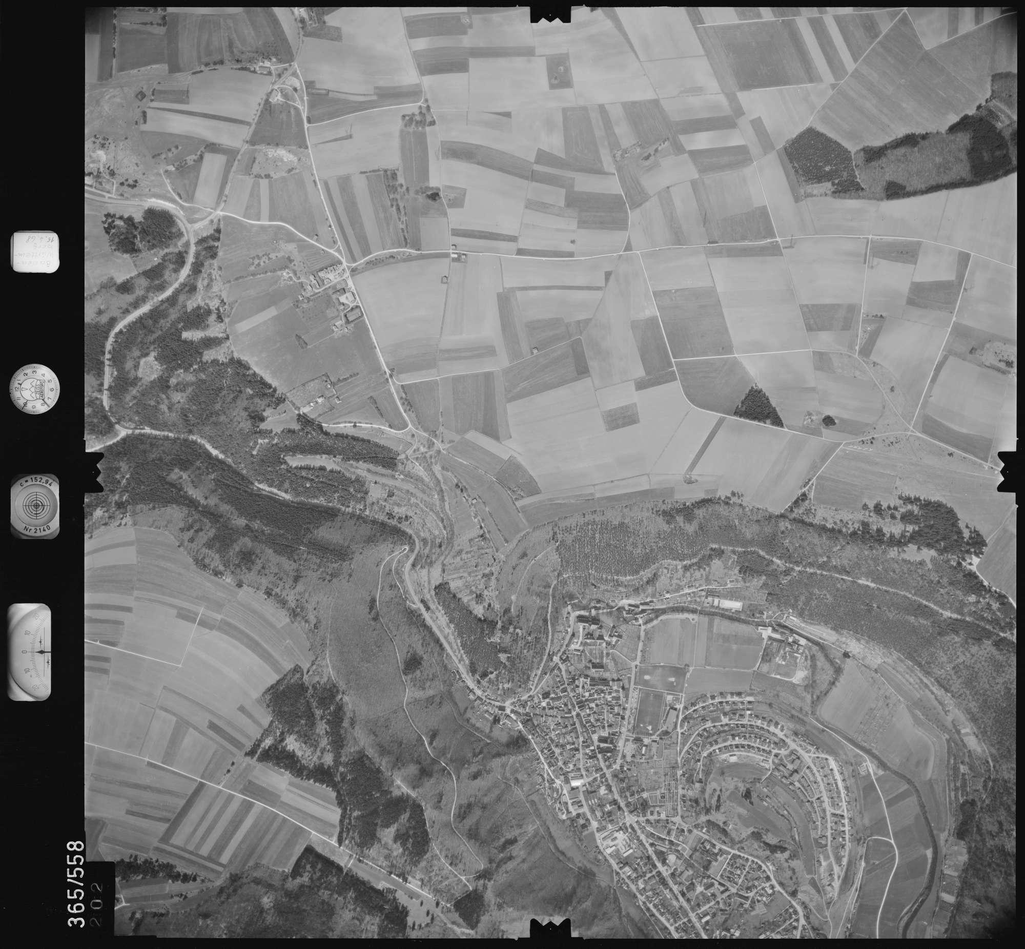 Luftbild: Film 45 Bildnr. 202, Bild 1